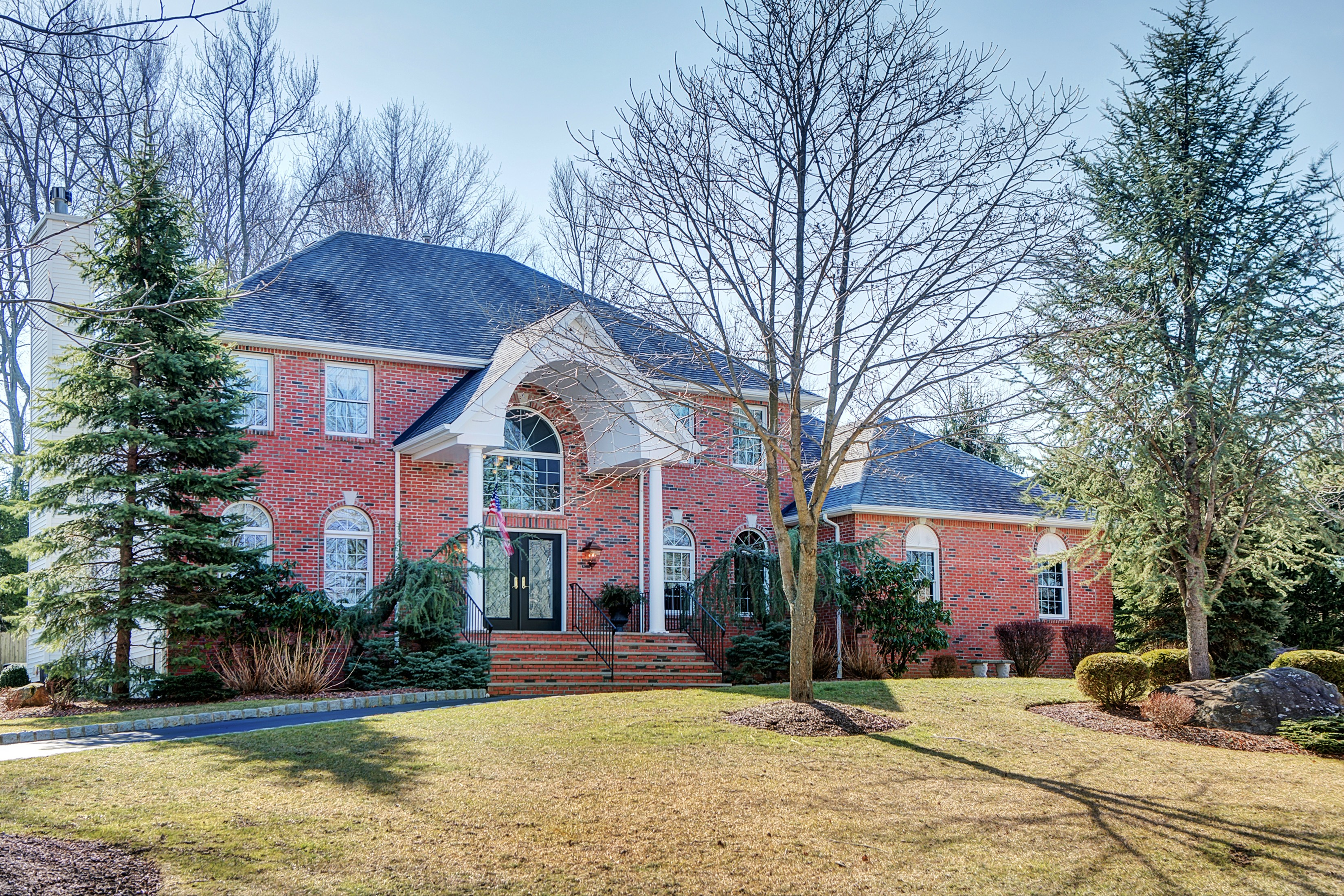 sales property at Impeccable Center Hall Colonial