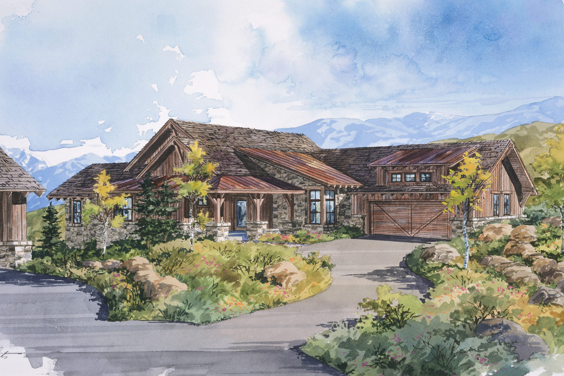 Casa Unifamiliar por un Venta en Park City Cabin in Promontory, a Private Mountain & Golf Recreational Community 3809 Cynthia Cir Lot 24 Park City, Utah 84098 Estados Unidos