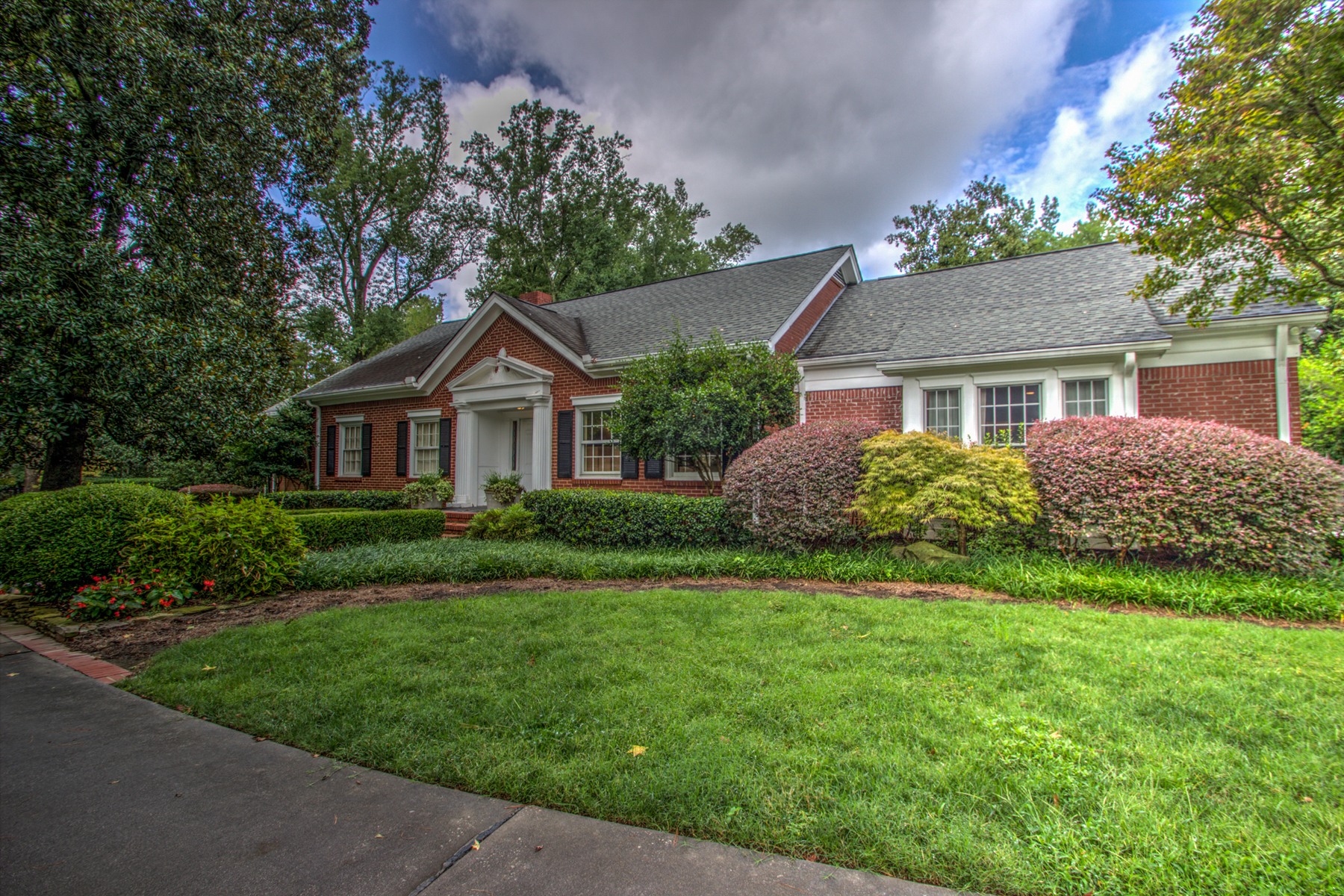 Property For Sale at Inviting Home On Tranquil, Private Lot In Buckhead
