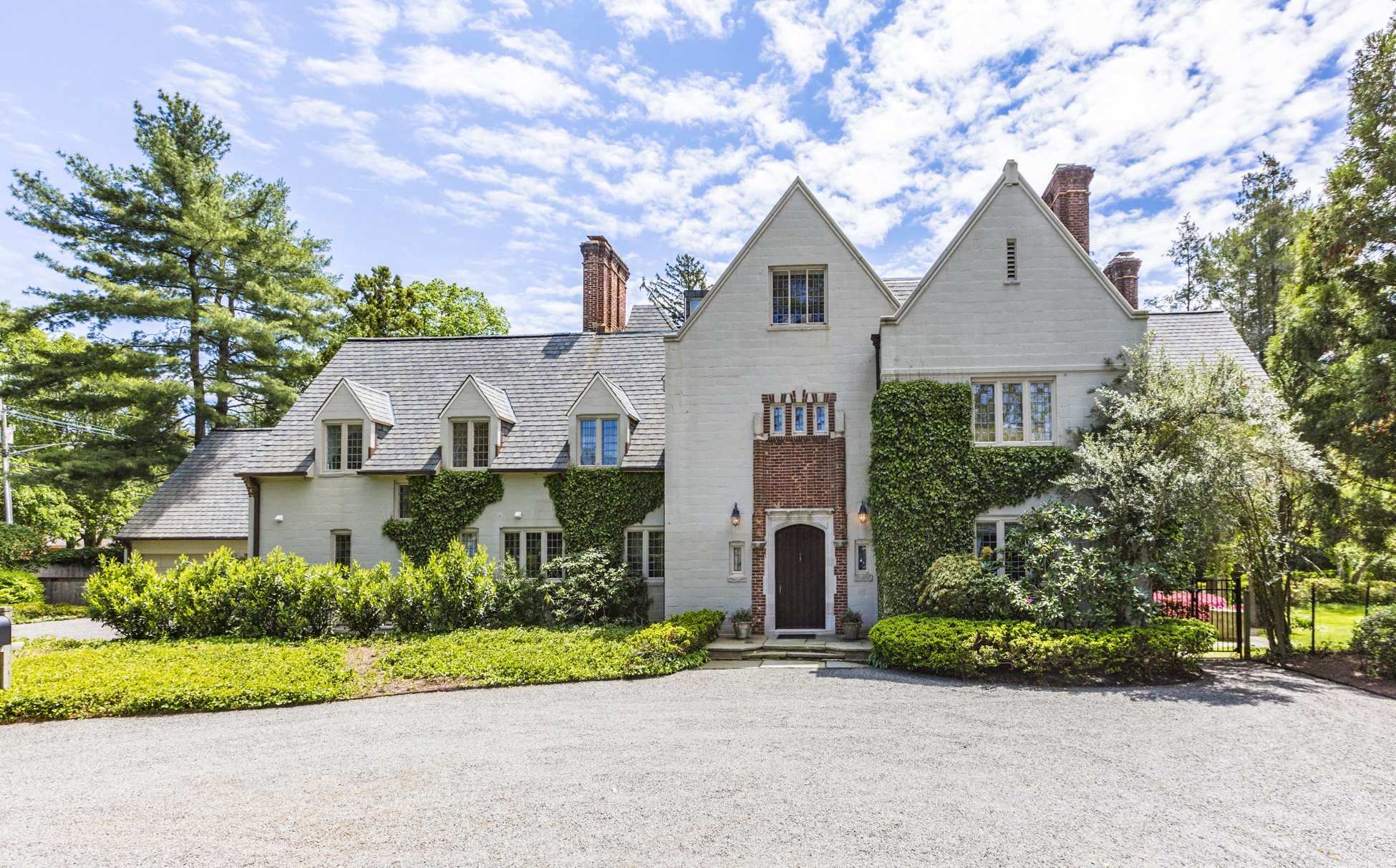Single Family Home for Sale at Normandy-inspired Manor in Princeton 114 Elm Road Princeton, New Jersey, 08540 United States
