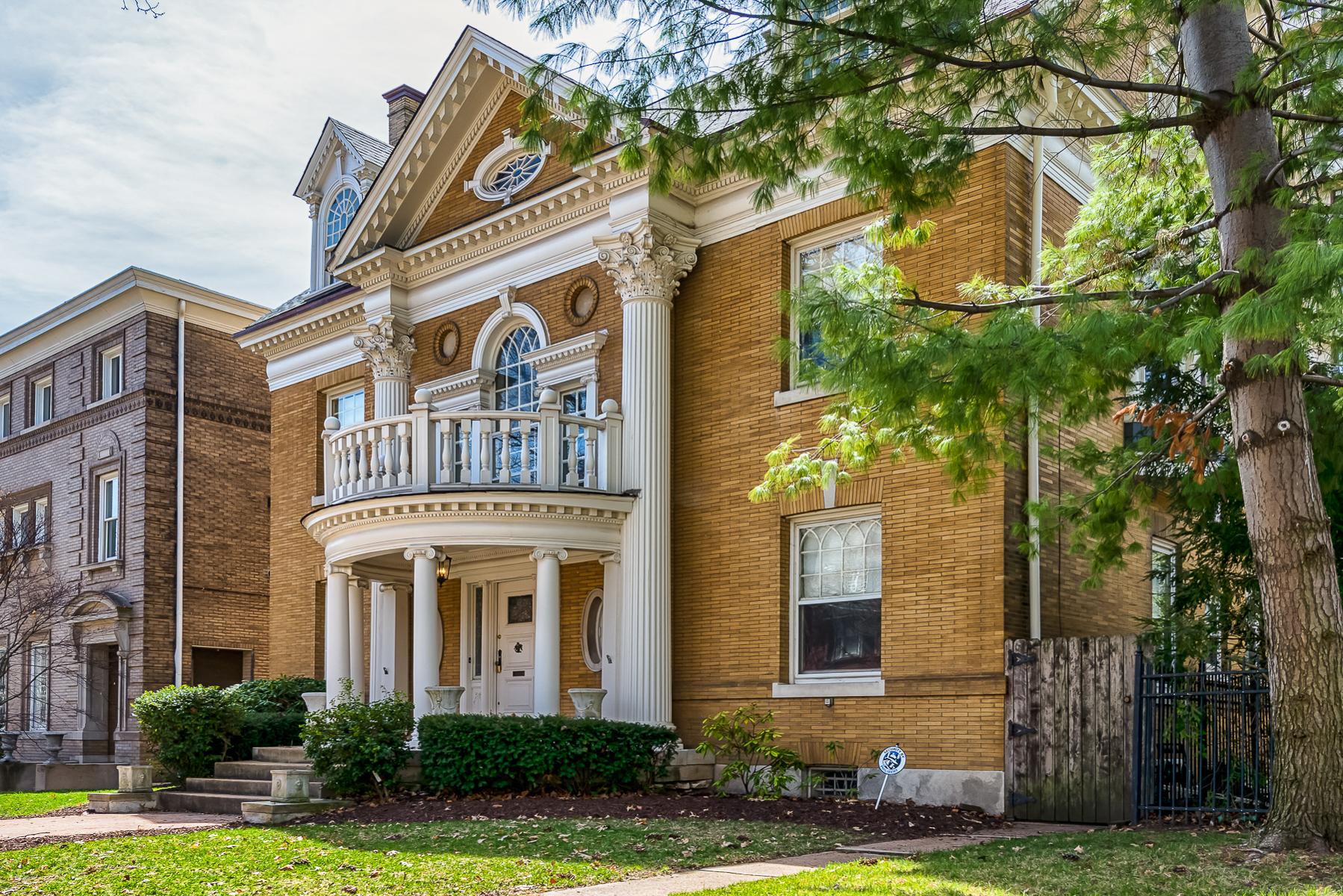 Vivienda unifamiliar por un Venta en Westminster Place 4388 Westminster Place St. Louis, Missouri, 63108 Estados Unidos