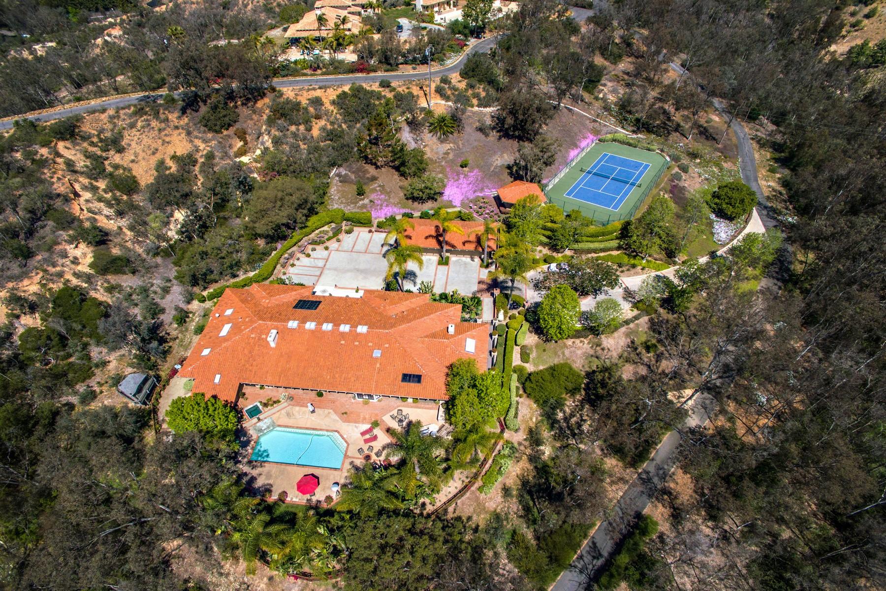 Vivienda unifamiliar por un Venta en 5259 La Glorieta Rancho Santa Fe, California, 92067 Estados Unidos
