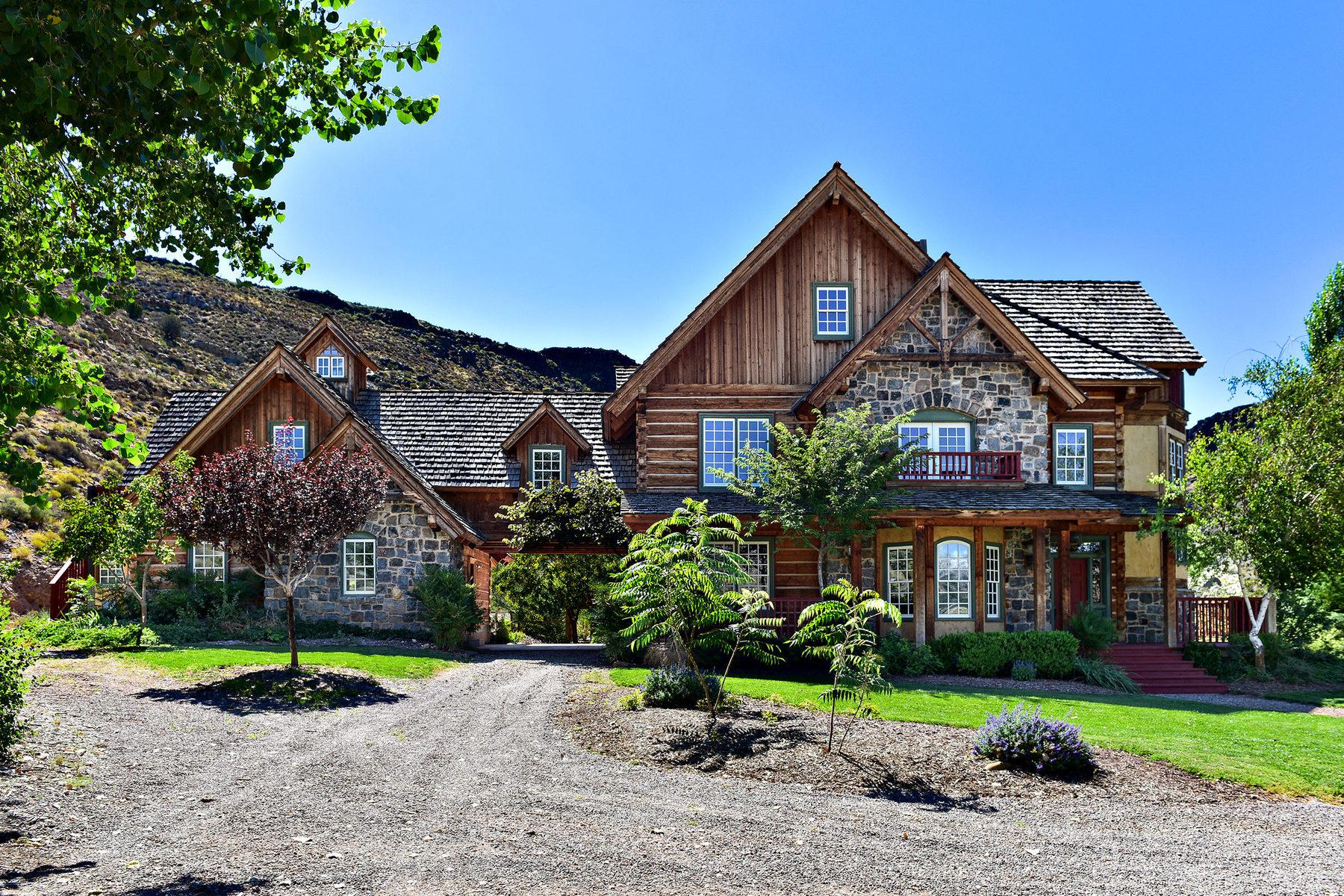 Villa per Vendita alle ore Ultimate 40 Acre Private Retreat 1385 W North Gunlock Rd Gunlock, Utah 84733 Stati Uniti
