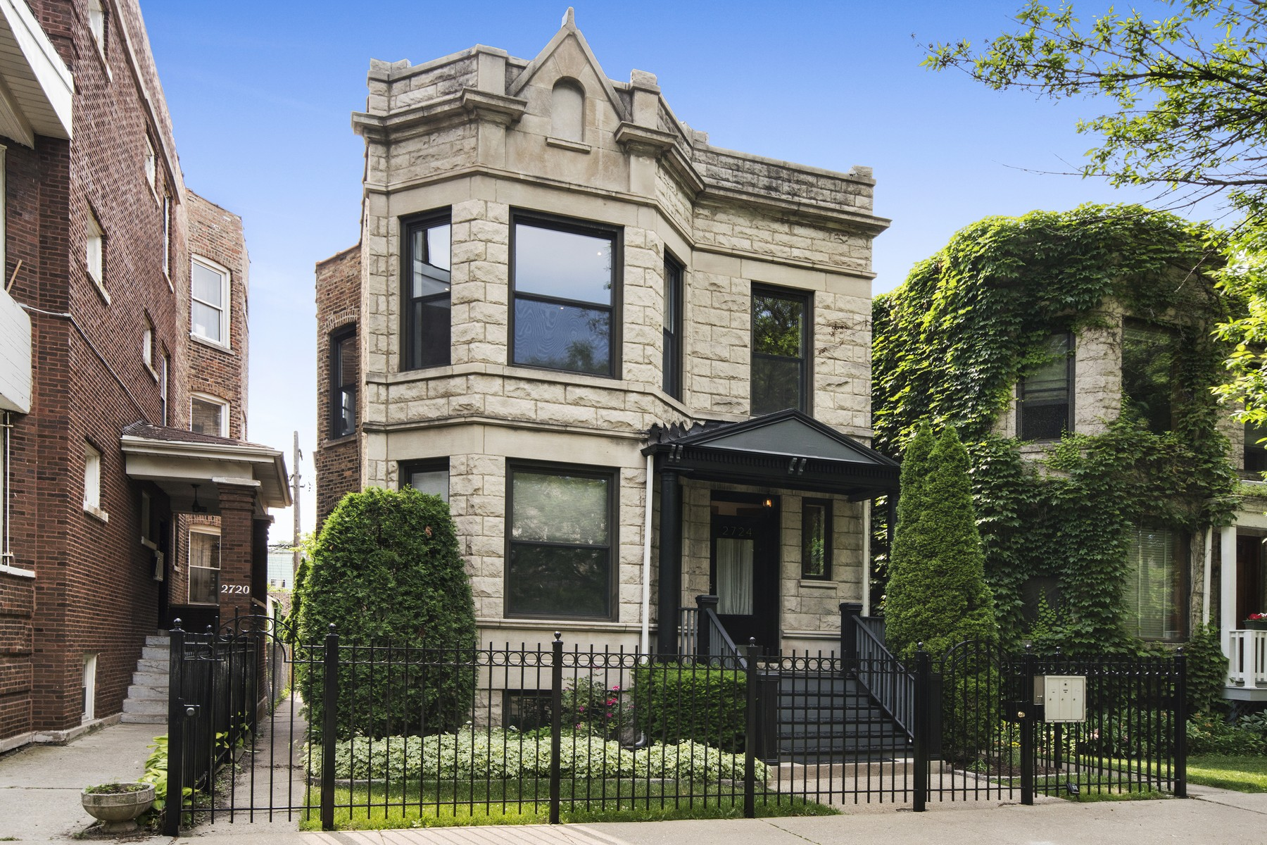 Multi-Family Home for Sale at Quintissential Logan Square Luxury Two Flat 2724 N Troy Street Logan Square, Chicago, Illinois, 60647 United States