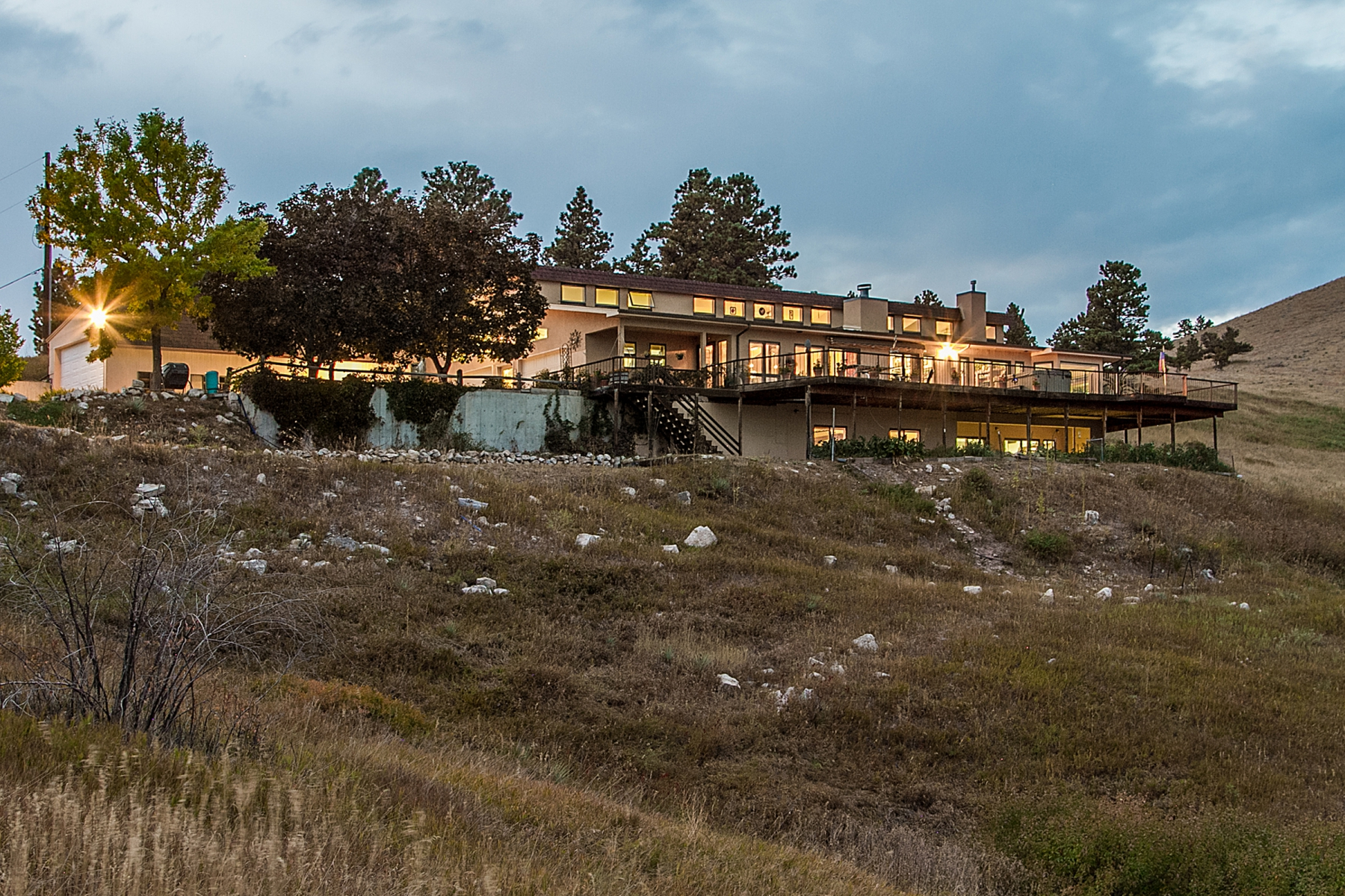 Single Family Home for Sale at Custom Home on 38 Acres 7372 Olde Stage Rd Boulder, Colorado, 80302 United States