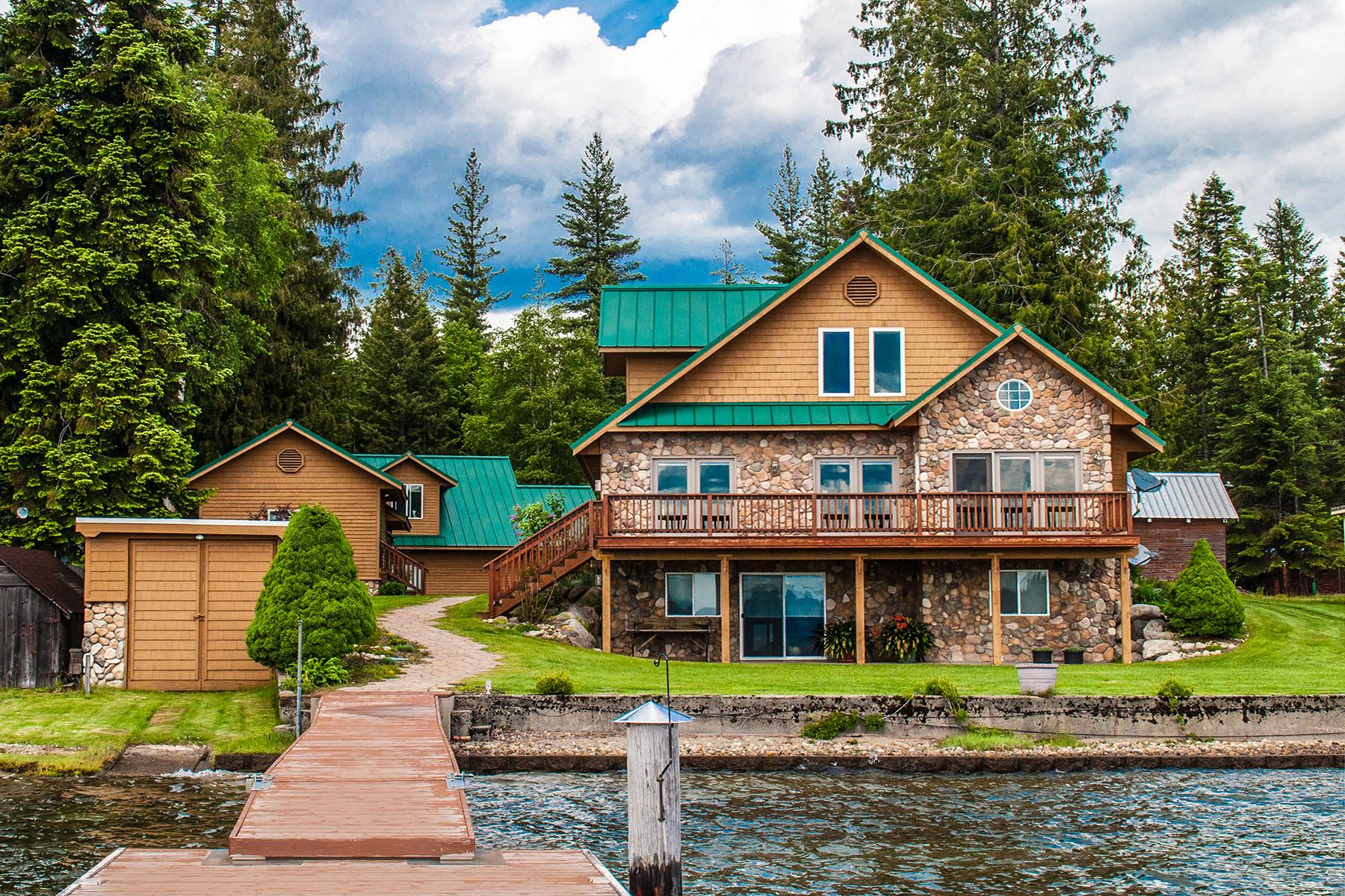 Maison unifamiliale pour l Vente à 5 Ac Reeder Bay Lot in Nordman, ID 16 Sunrise Lane Nordman, Idaho 83848 États-Unis