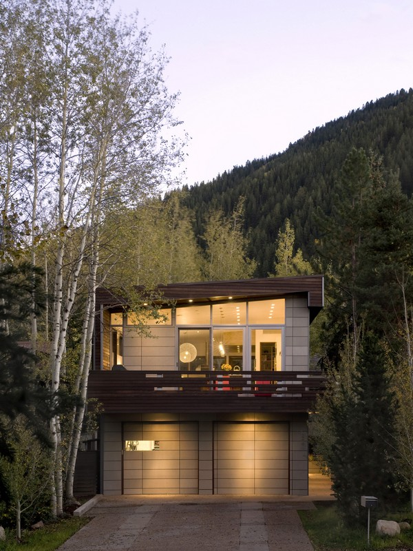 Single Family Home for Sale at Enticing Contemporary in East Aspen 1291 Riverside Drive East Aspen, Aspen, Colorado 81611 United States