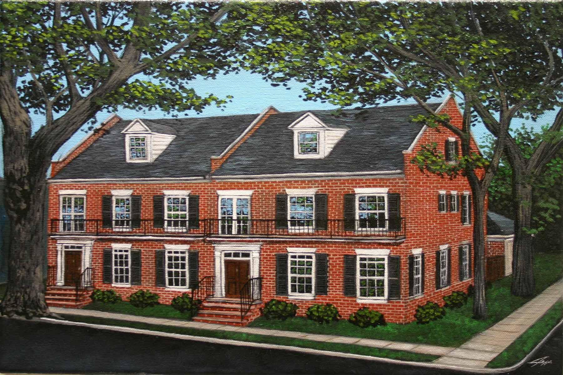 타운하우스 용 매매 에 Charming townhomes in historic Downtown Newman! 00 Perry Street Newnan, 조지아, 30263 미국