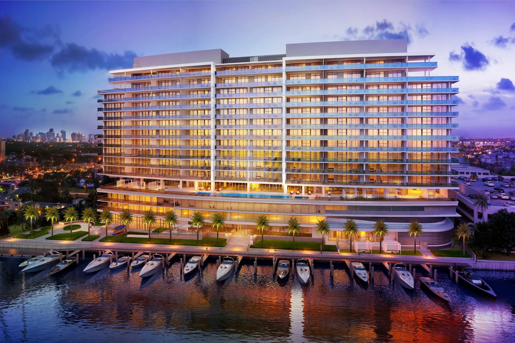 Condomínio para Venda às 1180 N Federal HWY Unit #1201 Fort Lauderdale, Florida 33304 Estados Unidos