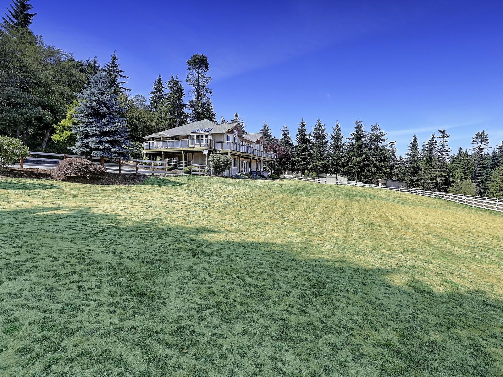 Farm / Ranch / Plantation for Sale at Equestirian Estate on Camano Island 964 SE Camano Dr Camano Island, Washington 98282 United States