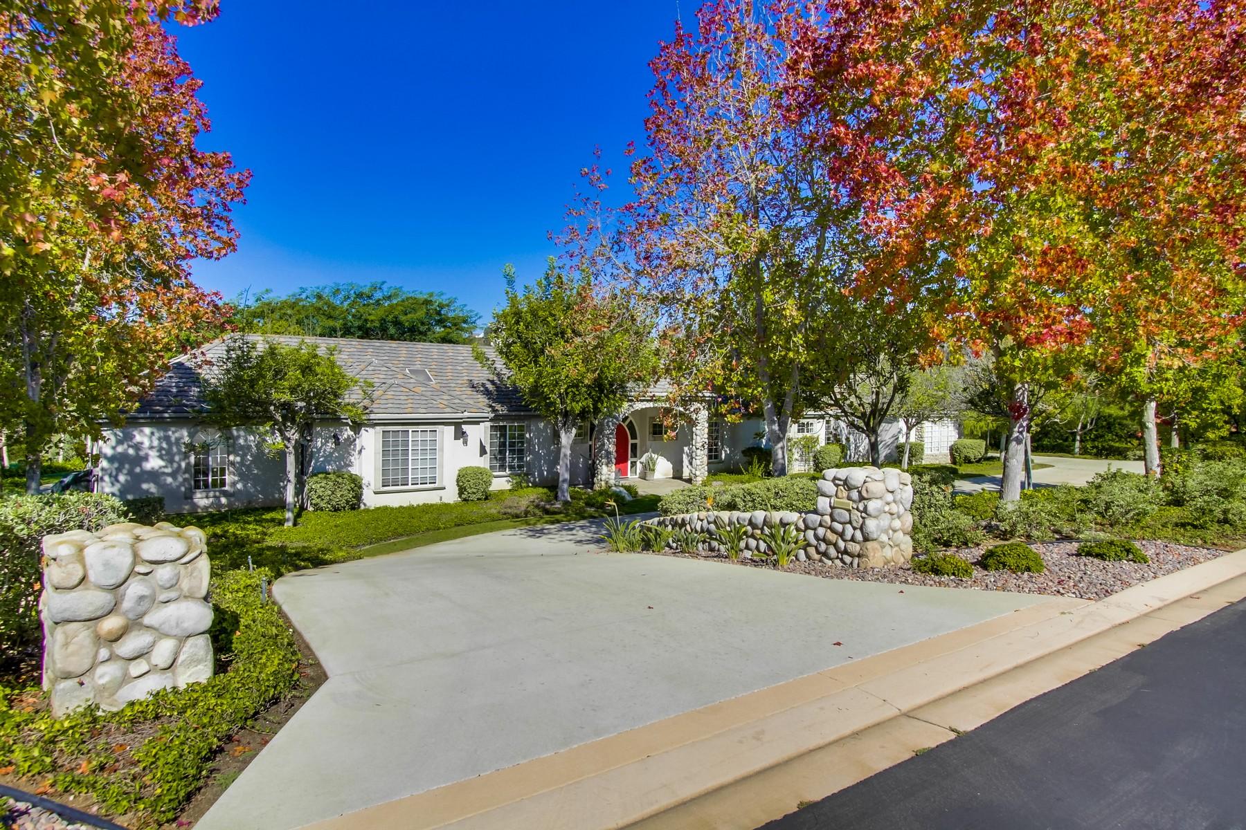 Einfamilienhaus für Verkauf beim 4124 Stonebridge Lane Rancho Santa Fe, Kalifornien 92091 Vereinigte Staaten