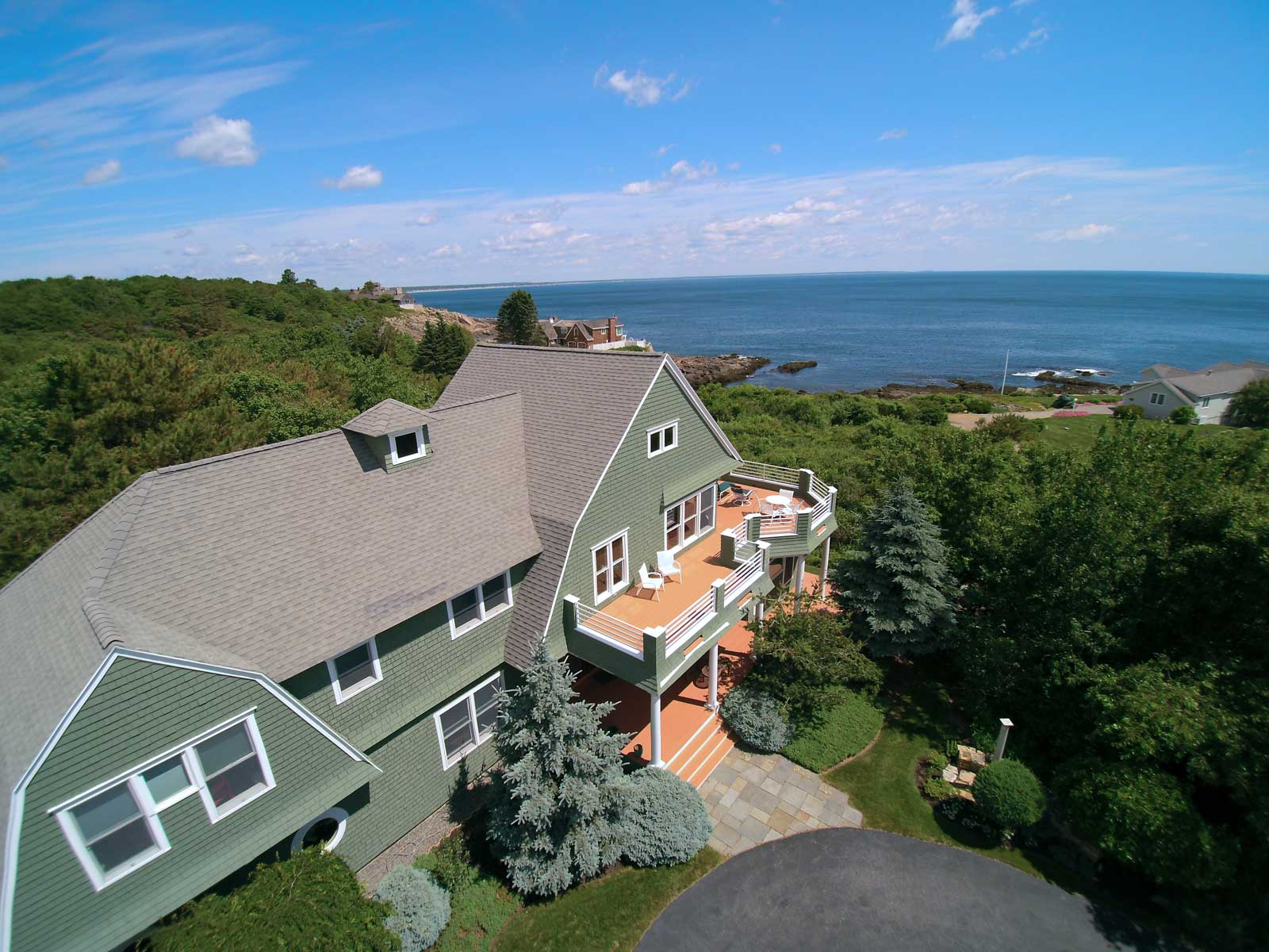 Property For Sale at Cape Neddick Ocean View Shingle-Style Contemporary