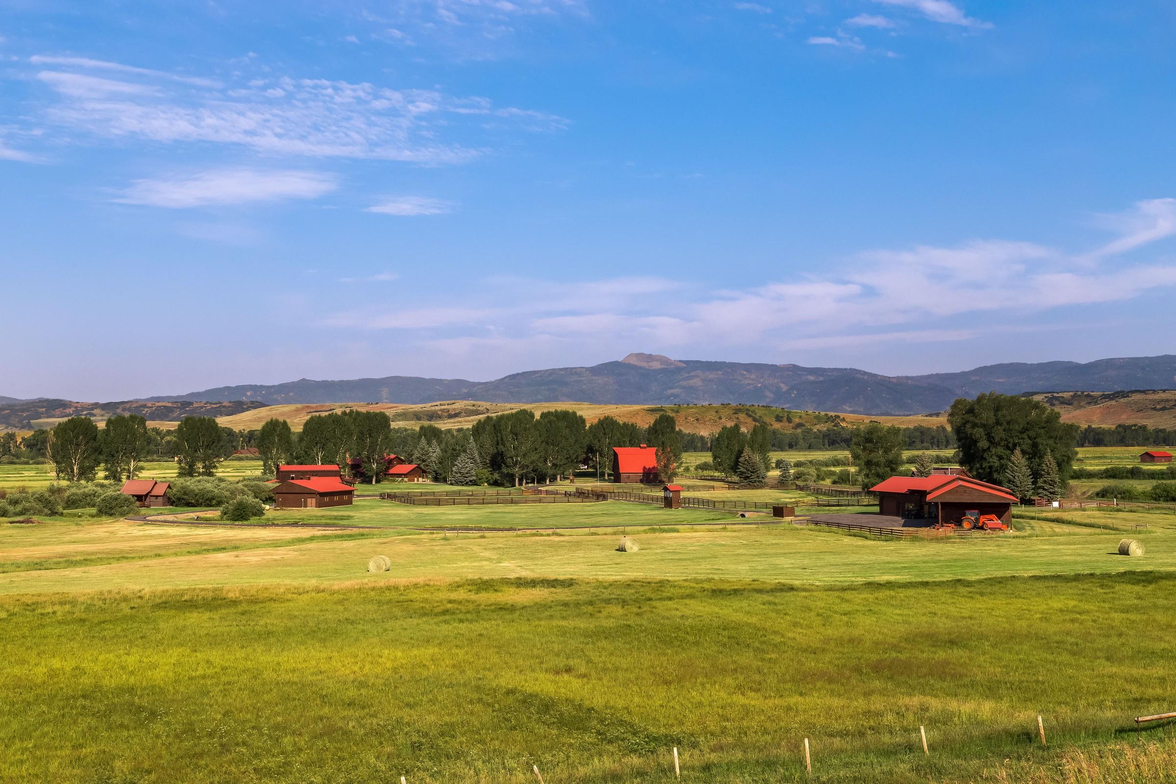 Landgut / Bauernhof / Plantage für Verkauf beim Elk River Ranch 25565 RCR 54 Steamboat Springs, Colorado, 80487 Vereinigte Staaten