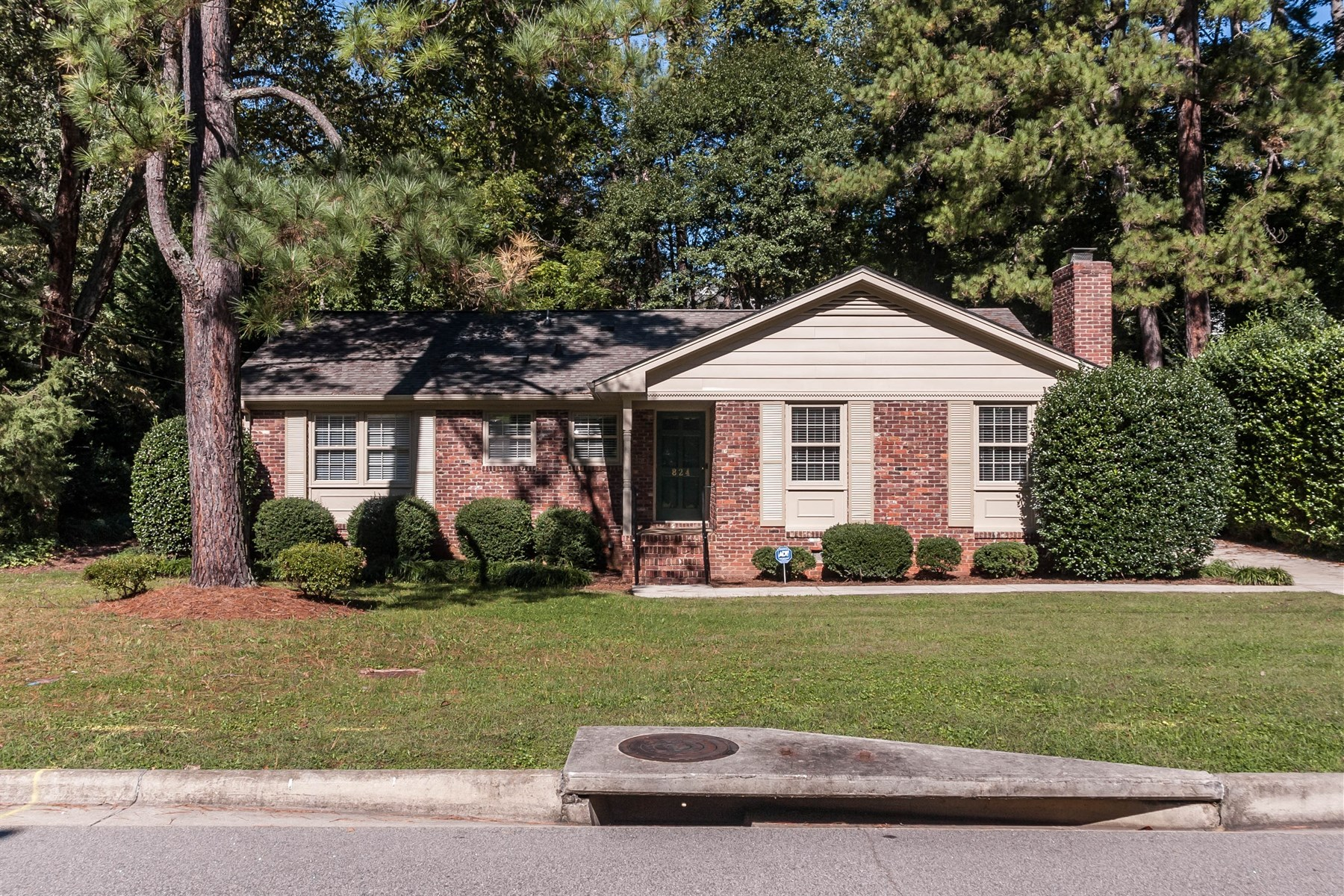 Single Family Home for Sale at Charming North Hills Ranch 824 Davidson Street Raleigh, North Carolina 27609 United States