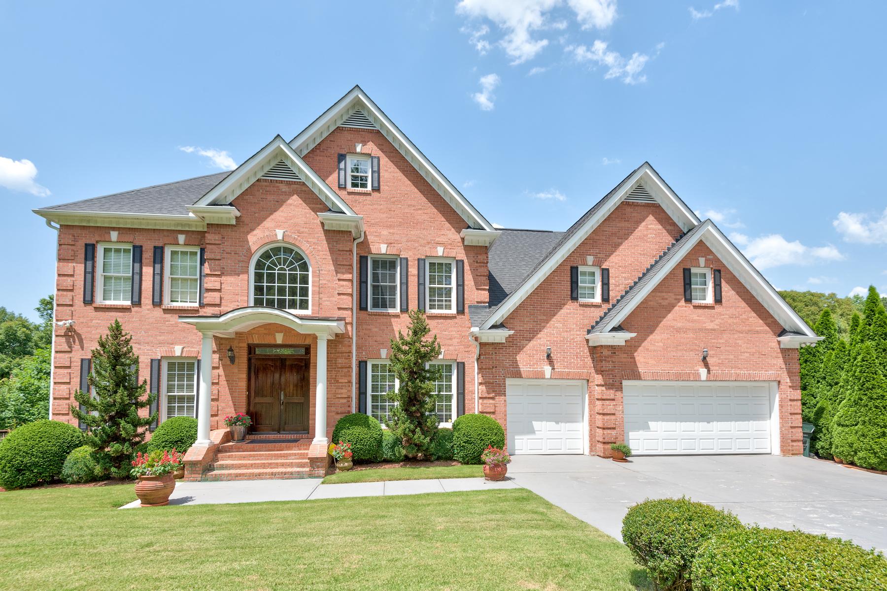 獨棟家庭住宅 為 出售 在 Stunning Brick Home Located In Quiet Sandy Springs Neighborhood 580 Calaveras Drive Sandy Springs, 喬治亞州, 30350 美國