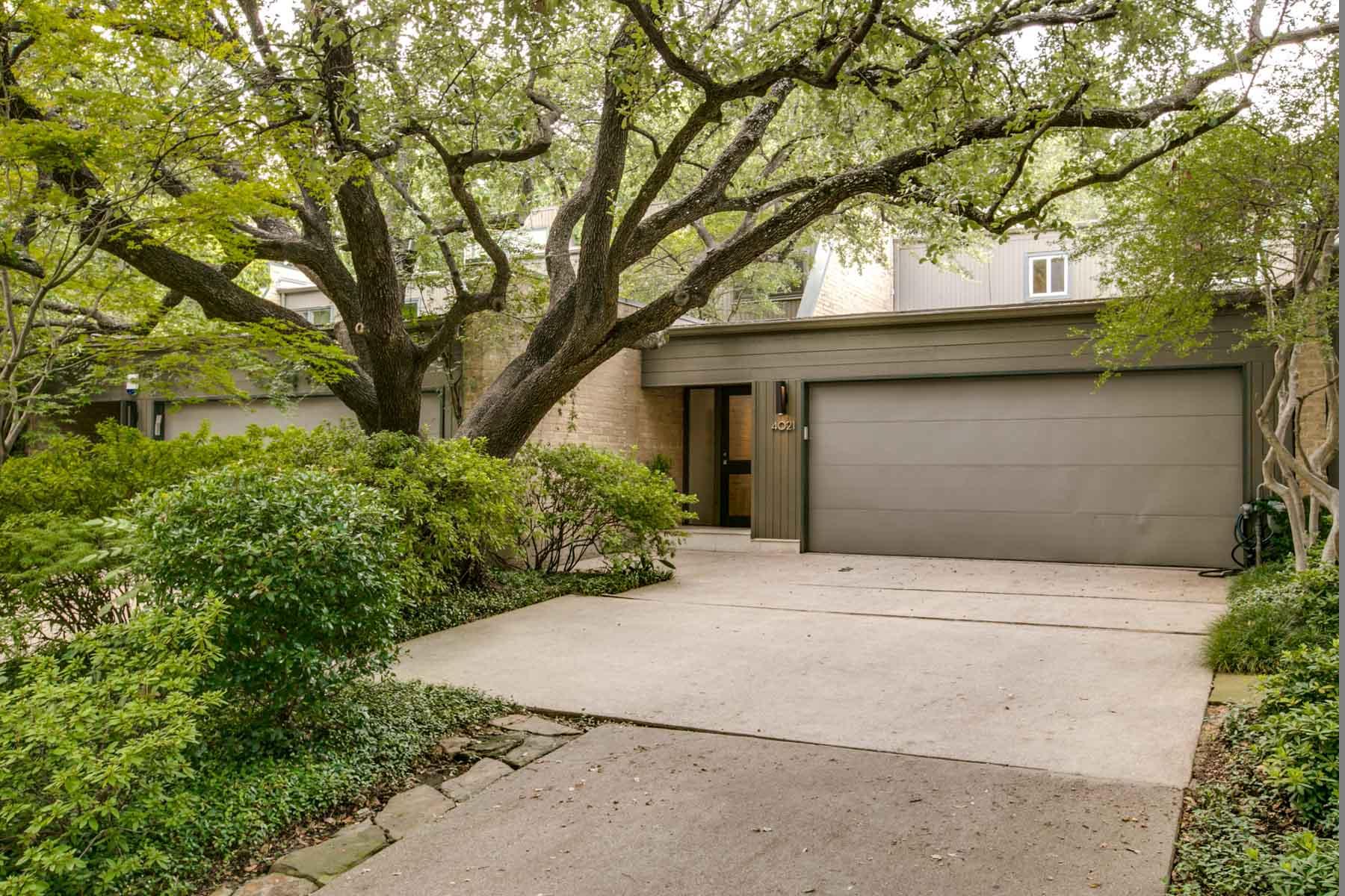 Casa para uma família para Venda às Stunning Contemporary Townhouse 4021 Travis St Dallas, Texas, 75204 Estados Unidos