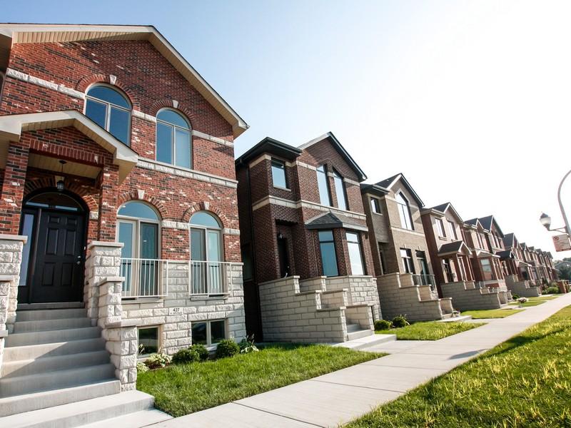 Casa para uma família para Venda às Phase 2 at Bridgeport Collection 430 W 38th Place Bridgeport, Chicago, Illinois 60609 Estados Unidos