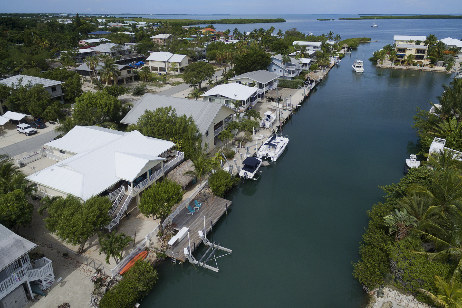 Additional photo for property listing at Stunning Waterfront Location 174 Plantation Avenue Plantation Key, 플로리다 33070 미국