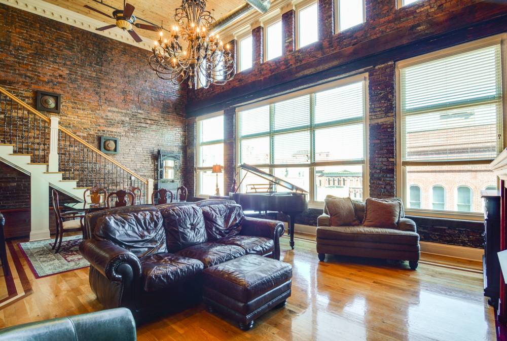 Condominium for Sale at Phoenix Lofts Penthouse in Downtown Nashville 207 3rd Avenue North, #601 Nashville, Tennessee 37201 United States