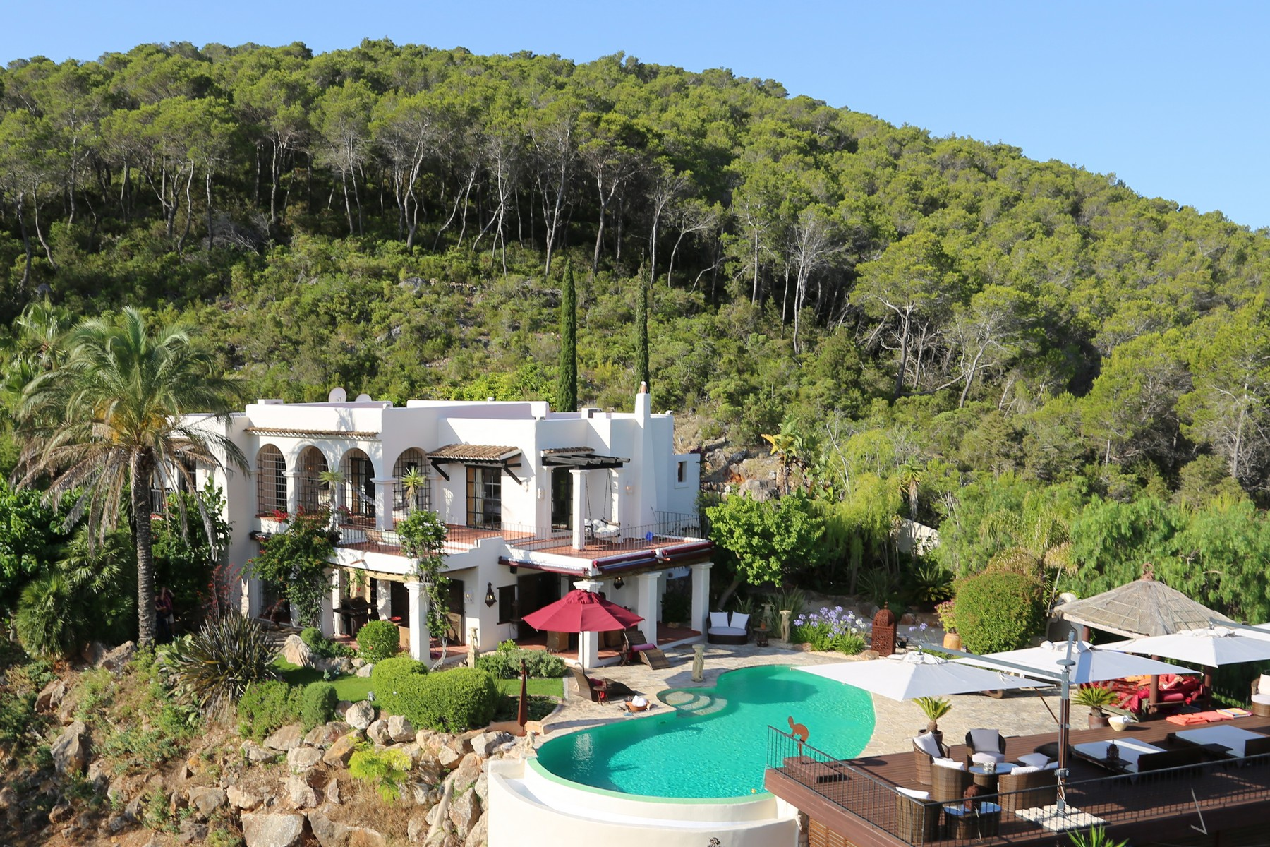 独户住宅 为 销售 在 Rustic Villa With Country And Sea views San Carlos Santa Eulalia, 西亚特 07840 西班牙