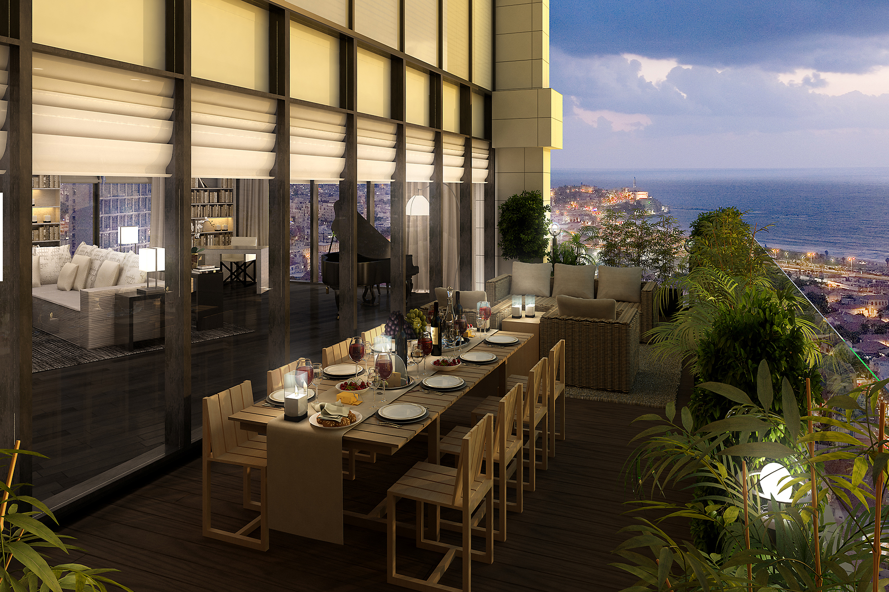 Apartment for Sale at Exquisite Penthouse Designed by Giorgio Armani Tel Aviv, Israel Israel