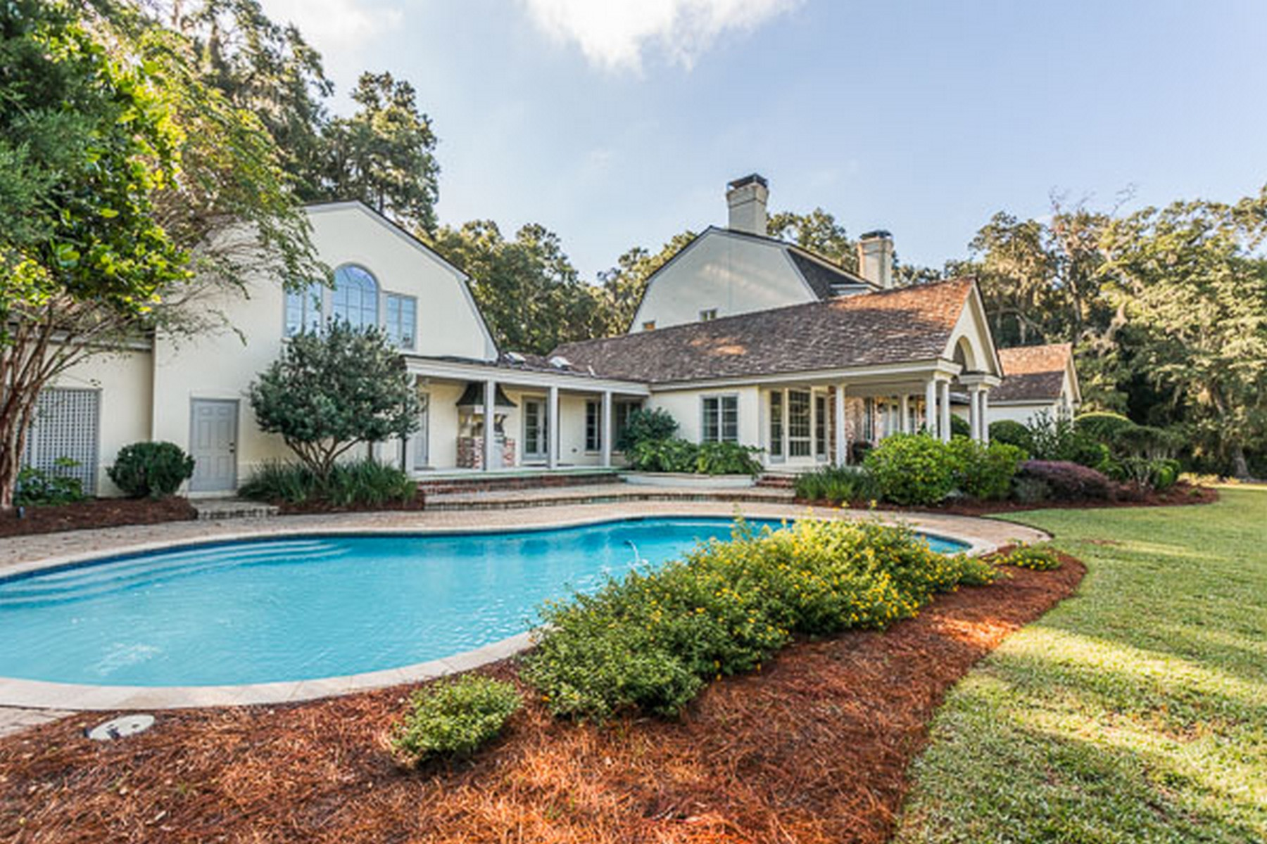 Single Family Home for Active at 446 Saint Annie's St. Simons Island, Georgia 31522 United States