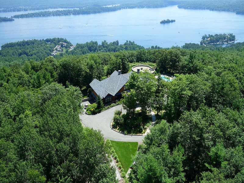 Single Family Home for Sale at The Lookout on Lake George 250 Shaw Road Lake George, New York 12845 United States