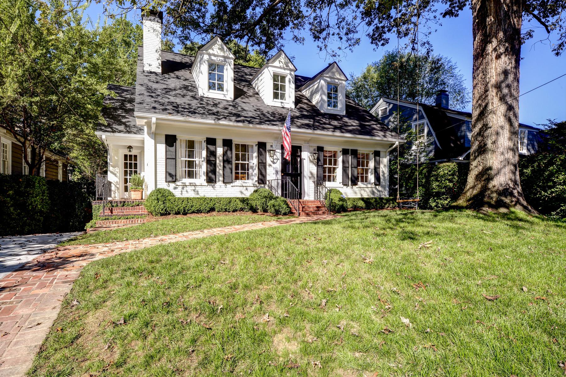 Single Family Home for Sale at Designer Dream Buckhead Home 70 Highland Drive Peachtree Park, Atlanta, Georgia 30305 United States