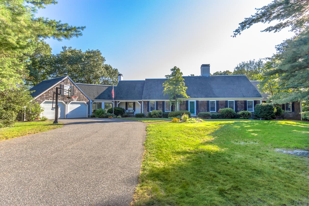 Single Family Home for Sale at Refined Royal Barry Wills Cape 116 Pine Hill Road Southborough, Massachusetts 01772 United States