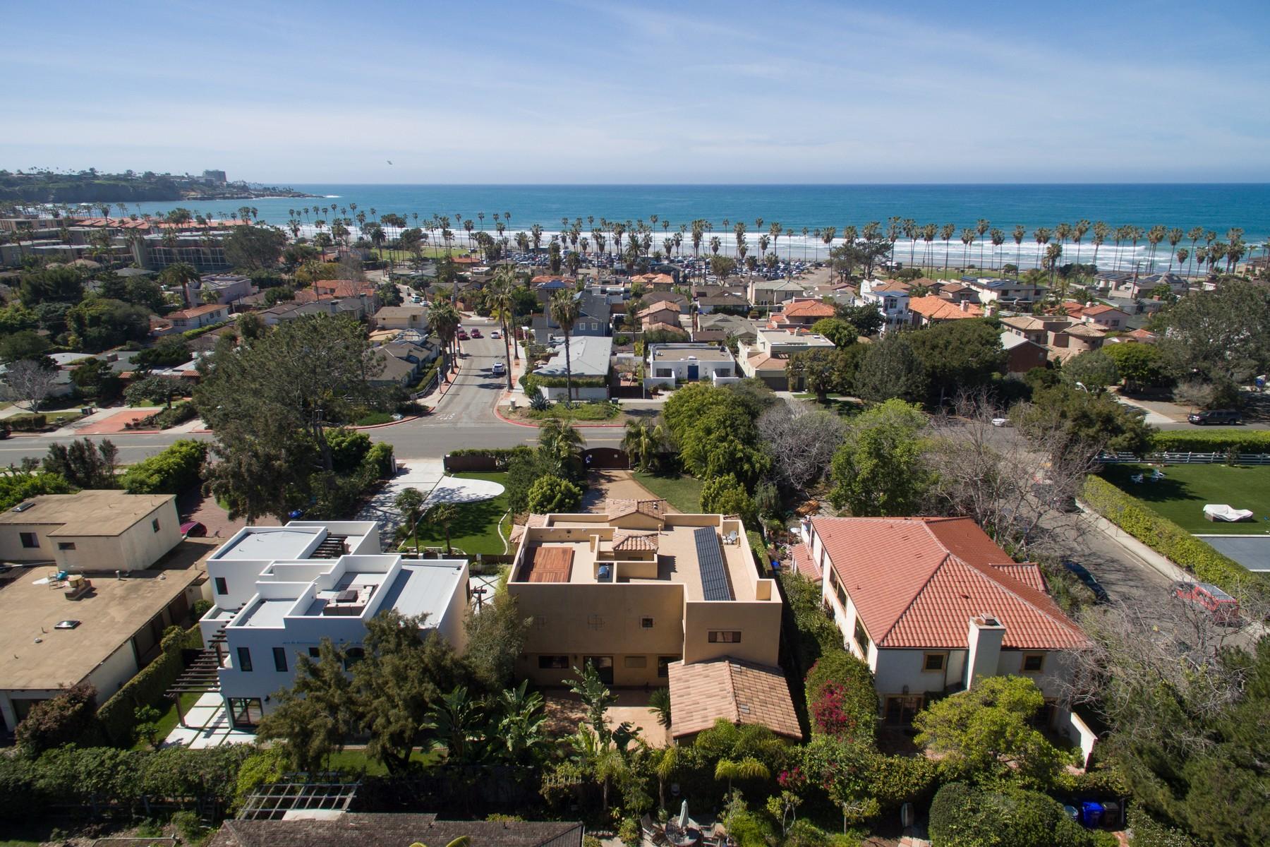 独户住宅 为 销售 在 8327 La Jolla Shores Drive 拉荷亚, 加利福尼亚州 92037 美国