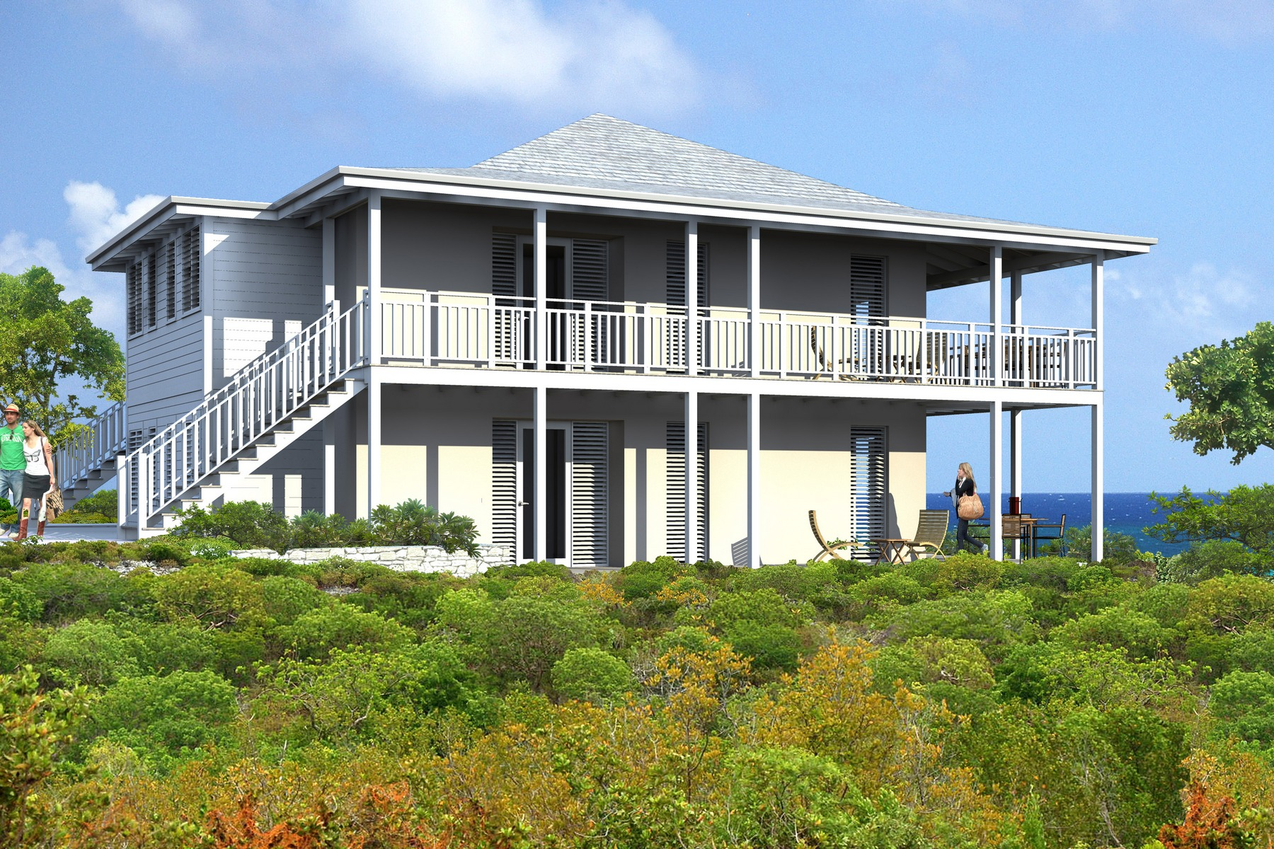 Additional photo for property listing at Ridgetop Residence 821 Oceanview Sailrock, South Caicos TC Теркс И Кайкос
