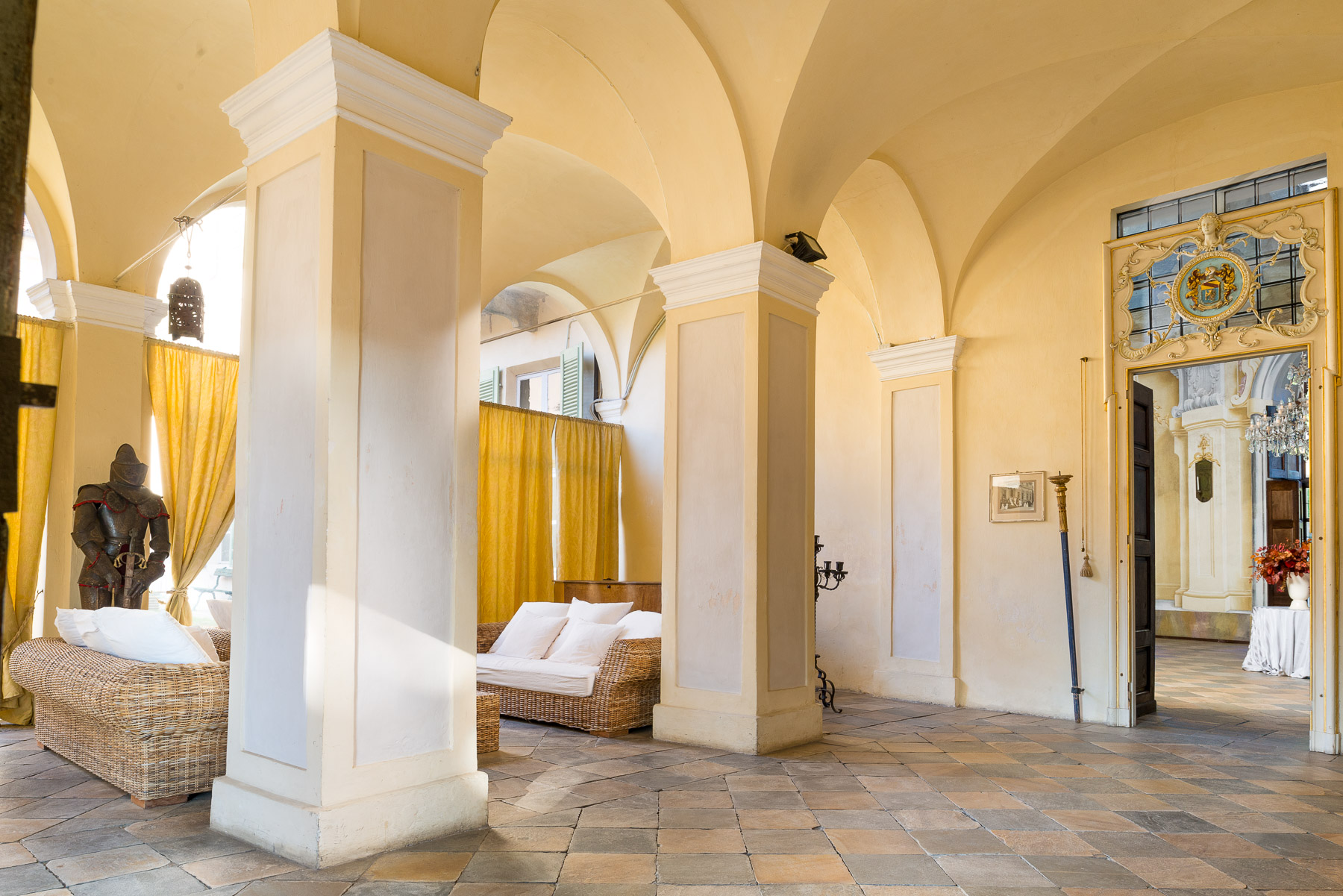 Additional photo for property listing at Stately Castle in Piedmont Piazzetta del Castello Cumiana, Turin 10040 Italien