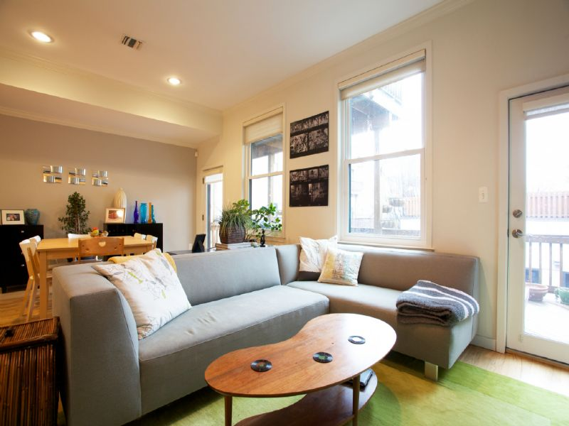 Duplex vì Bán tại Super-Sized, Spectacular 3BR/2BATH Condo that Lives Like a House! 506 Observer Highway #A Hoboken, New Jersey 07030 Hoa Kỳ