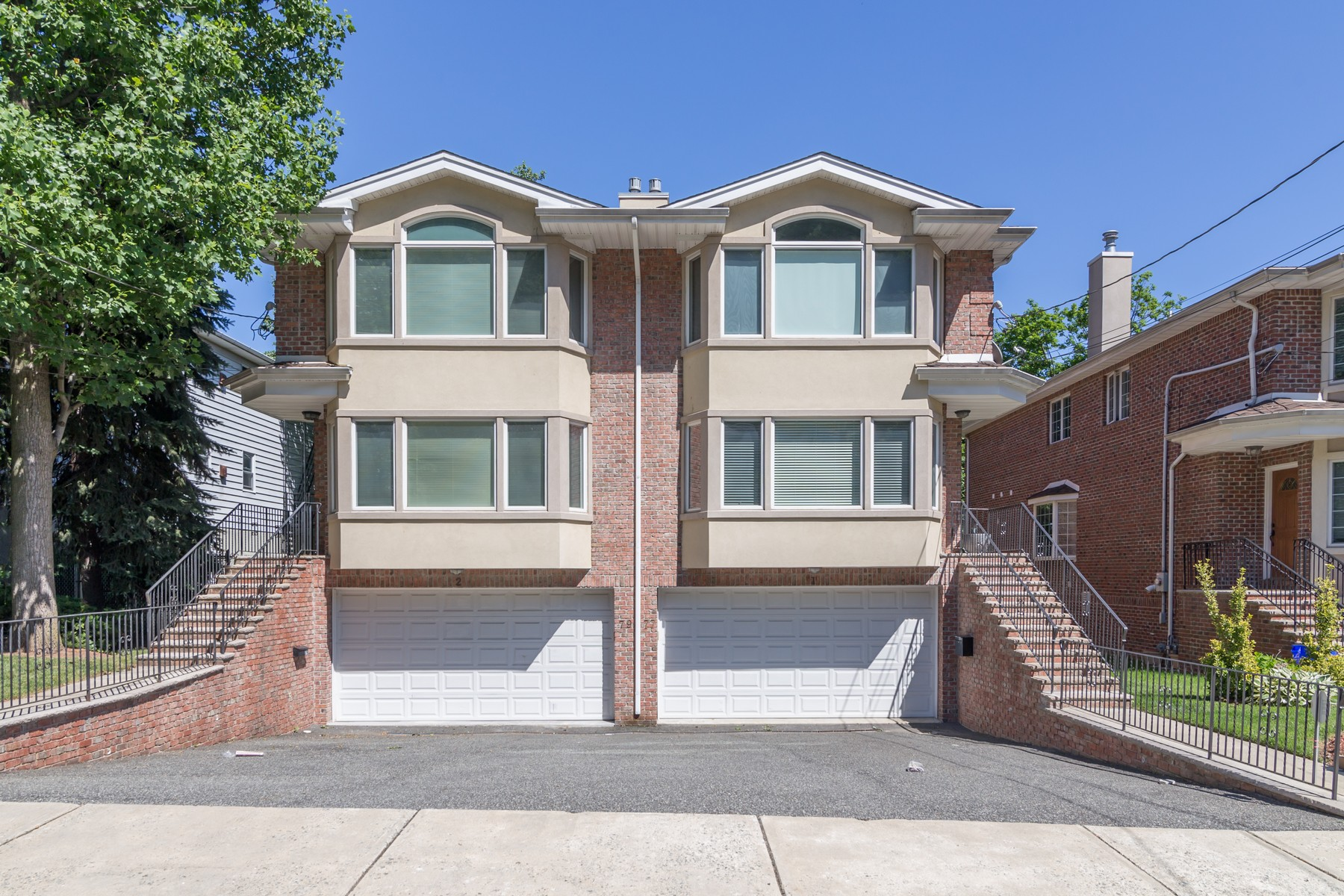 Townhouse for Sale at Three Level Duplex Townhome 77 Myrtle Ave Edgewater, 07020 United States