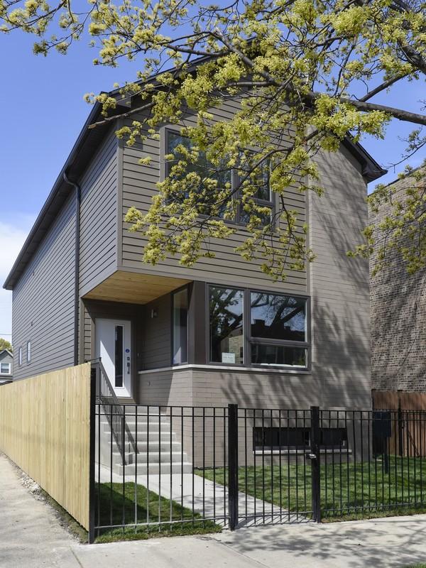 Casa Unifamiliar por un Venta en Contemporary New Construction 4048 N Troy Street Irving Park, Chicago, Illinois 60618 Estados Unidos