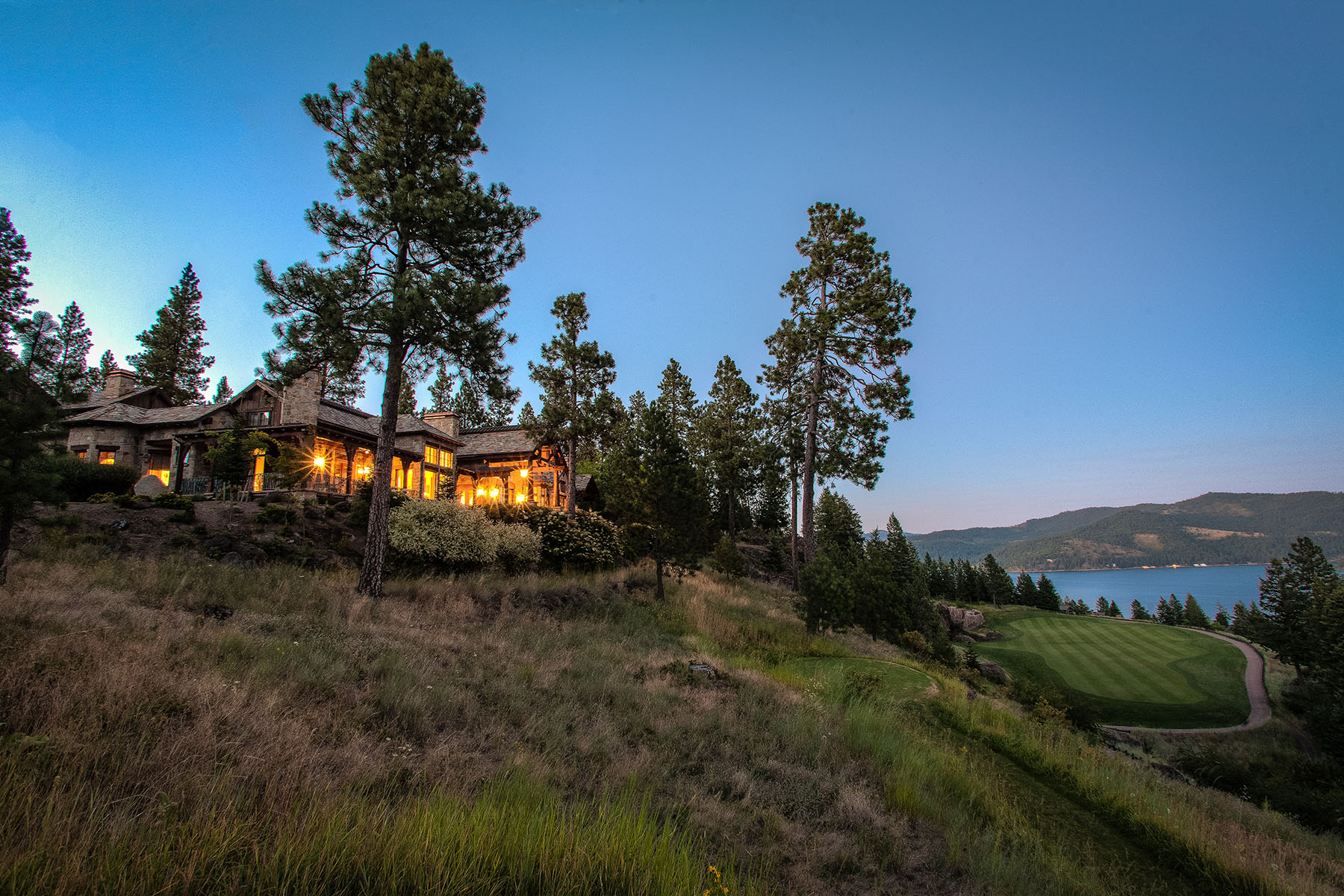 Single Family Home for Sale at The Ultimate Black Rock experience 6397 W PLATINUM DR Coeur D Alene, Idaho 83814 United States