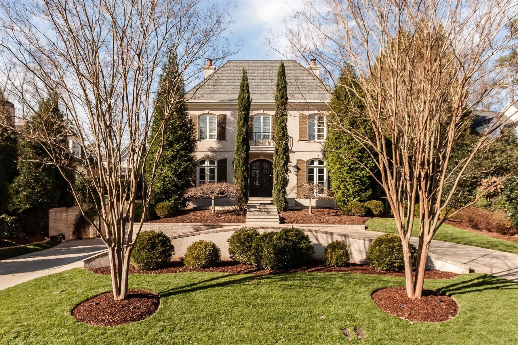 Villa per Vendita alle ore Exquisite Custom Built Home in Coley Forest 2205 Lash Ave Raleigh, Carolina Del Nord 27607 Stati Uniti