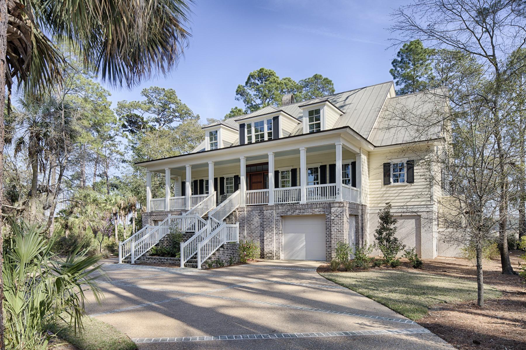 Einfamilienhaus für Verkauf beim 26 Jackfield Road Bluffton, South Carolina 29910 Vereinigte Staaten