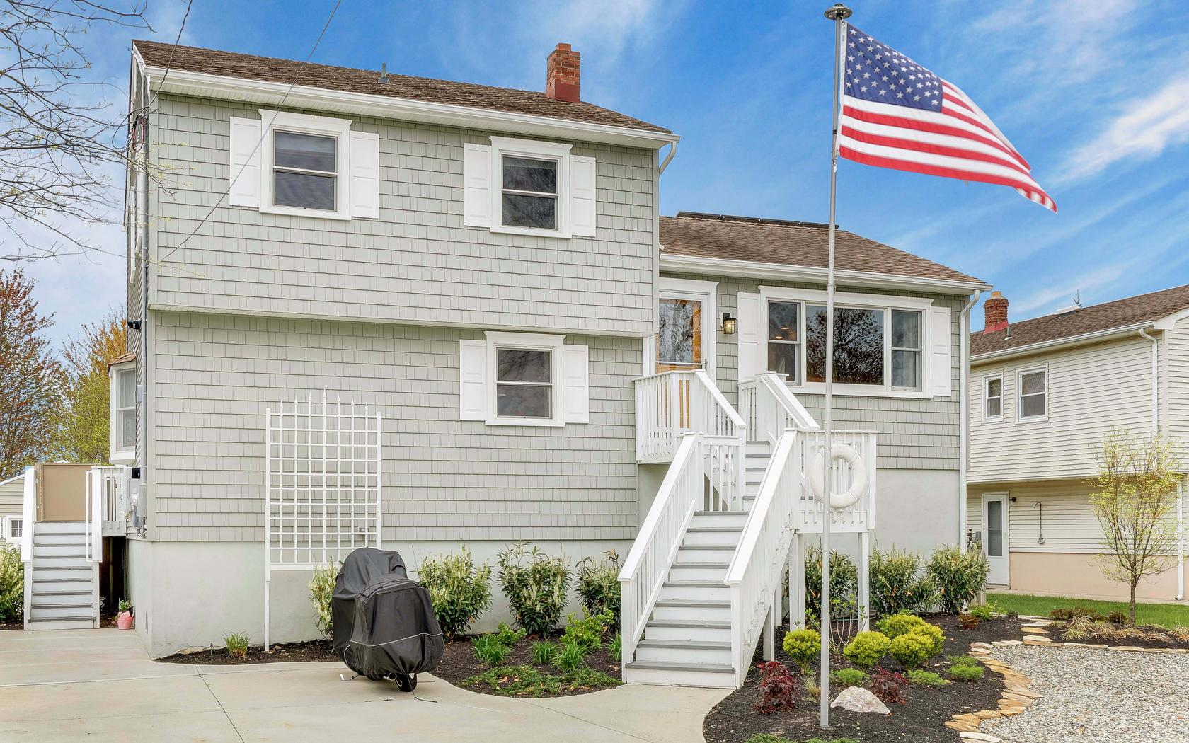 Single Family Home for Sale at Completely Redone Beach Home 351 E Virginia Ave Manasquan, New Jersey 08736 United States