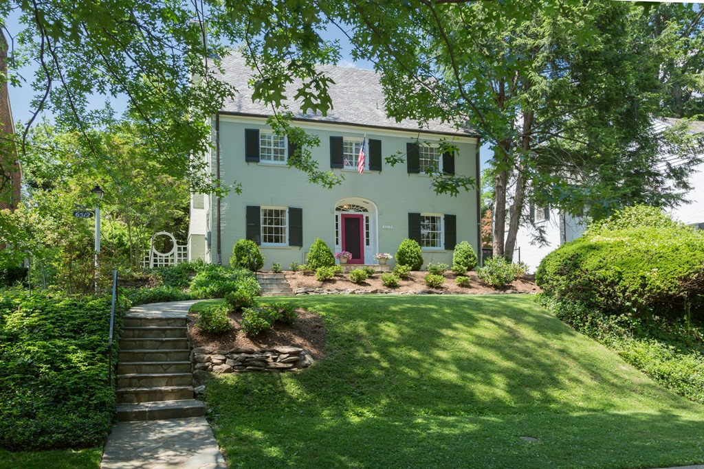 Single Family Home for Sale at Chevy Chase - DC 6512 Barnaby Street Nw Washington, District Of Columbia 20015 United States