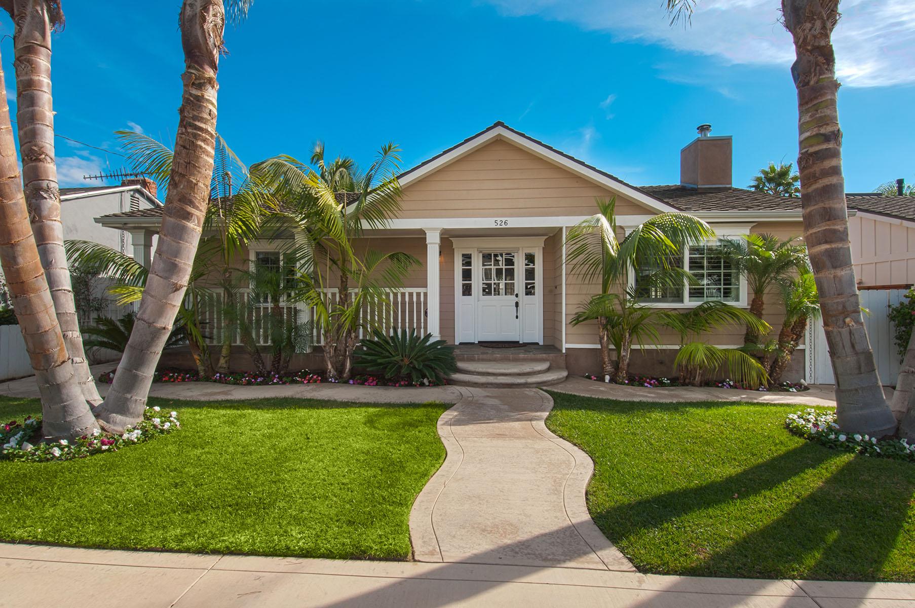 Casa Unifamiliar por un Venta en 526 Westminster Ave Newport Beach, California 92663 Estados Unidos