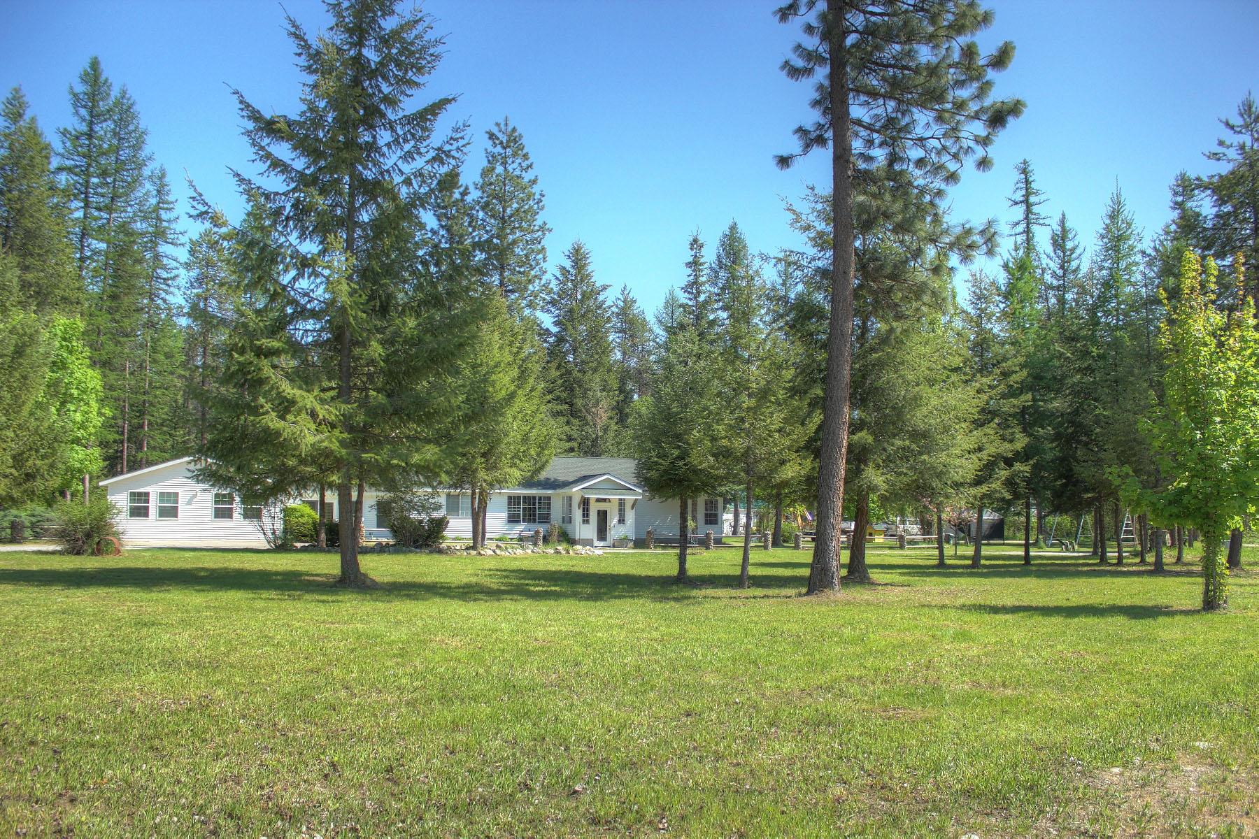 Moradia para Venda às Pristine ranch style home located on 4.95 acres 147 Shepard Rd Oldtown, Idaho, 83822 Estados Unidos