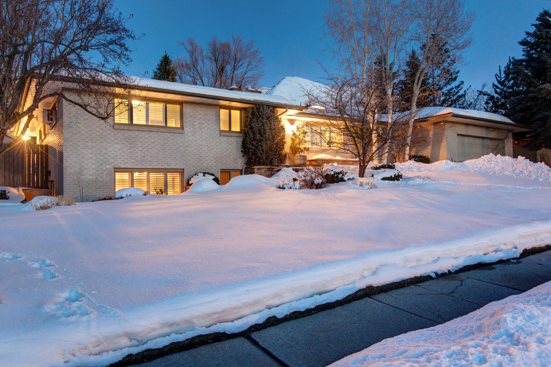Частный односемейный дом для того Продажа на Charming St. Mary's Rambler 1165 S Oak Hills Dr Salt Lake City, Юта, 84108 Соединенные Штаты