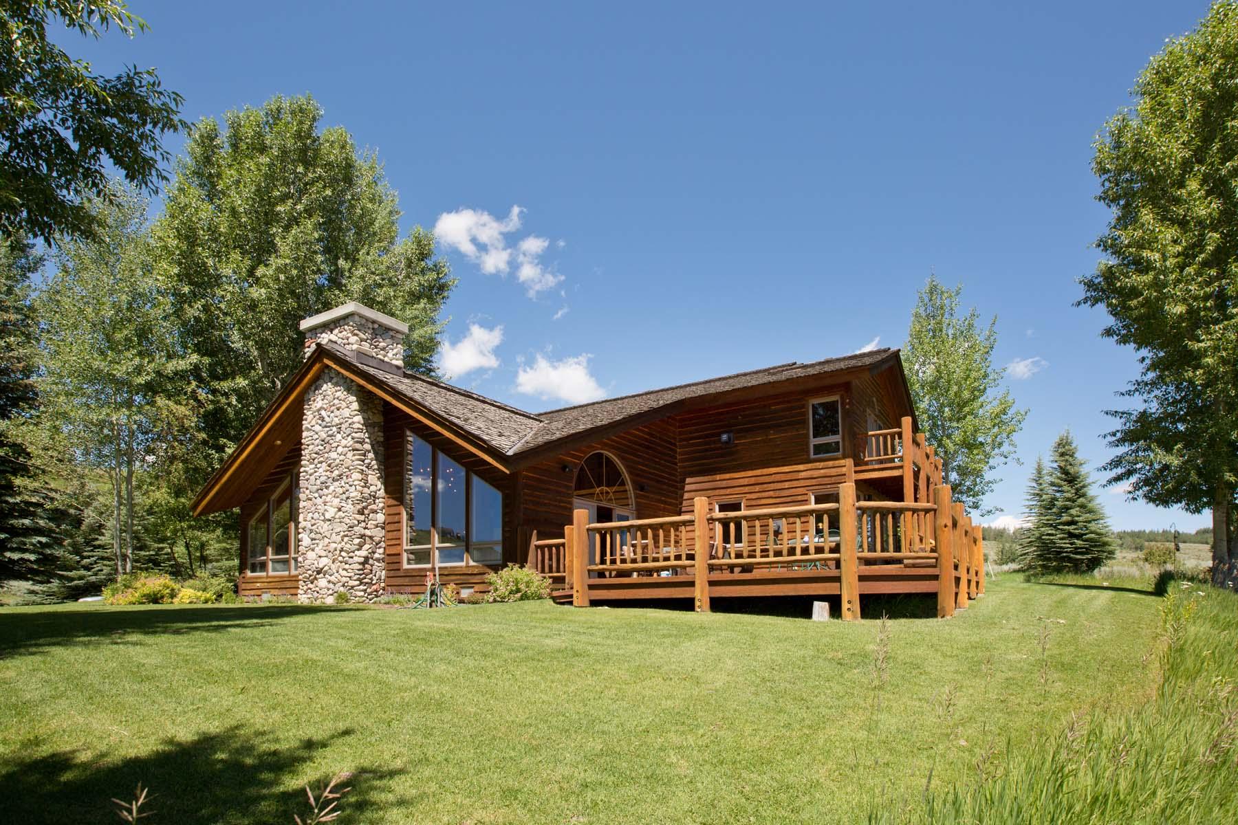 独户住宅 为 销售 在 Rarely Available Views and Setting 1400 Gannett Road 杰克逊, 怀俄明州, 83001 美国