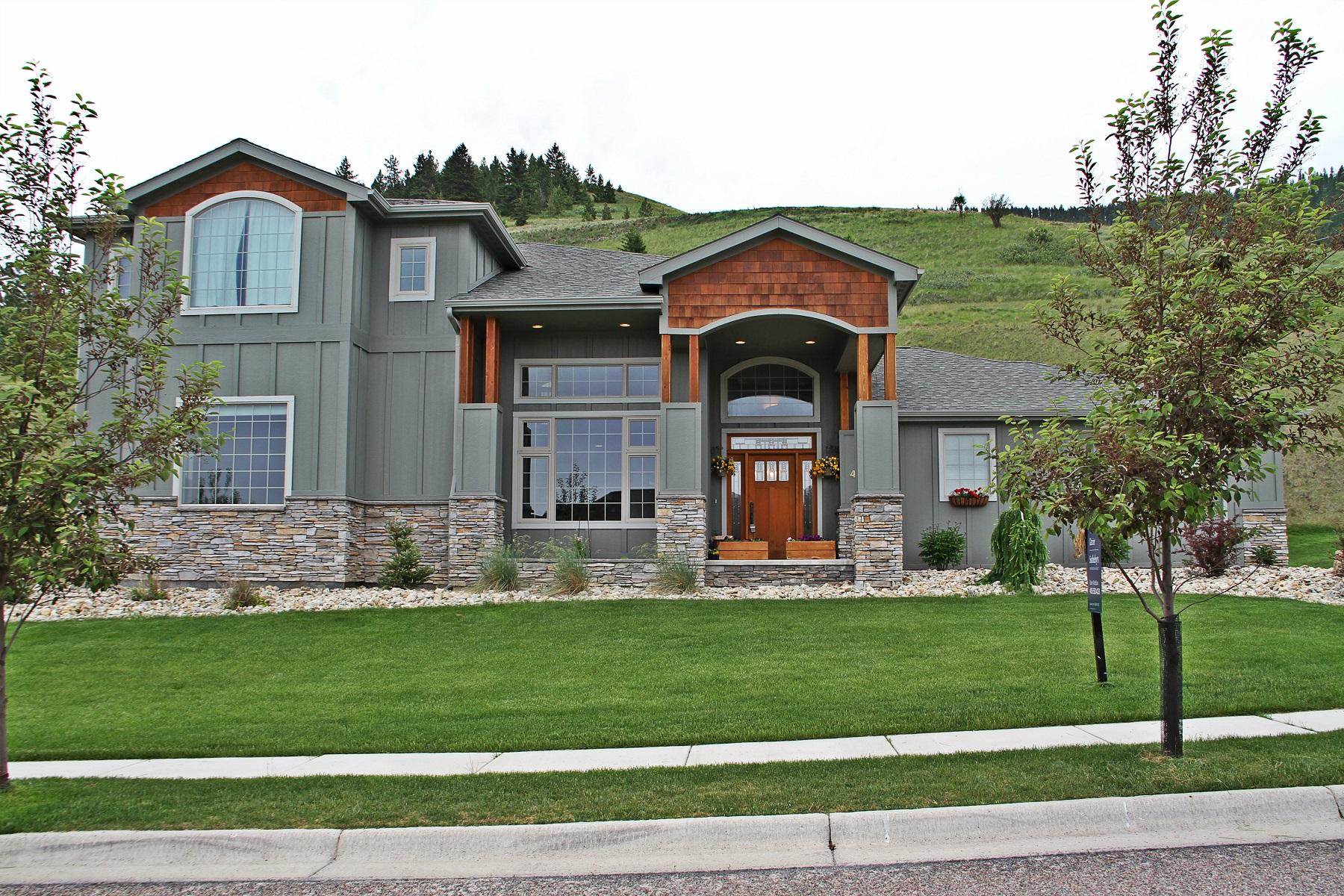 Casa para uma família para Venda às 411 Spanish Peaks Drive Missoula, Montana 59803 Estados Unidos