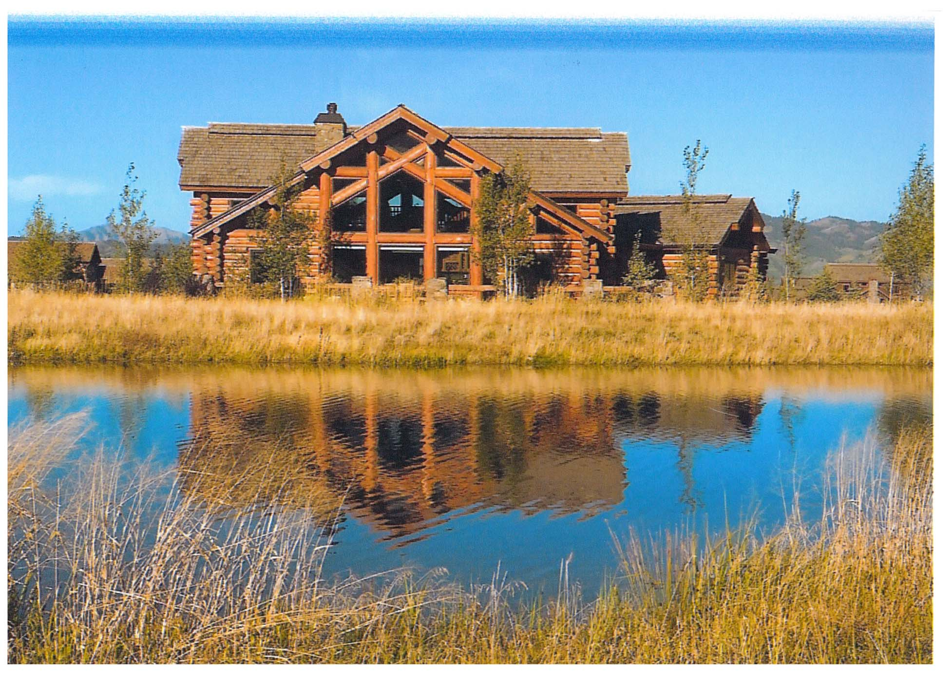 獨棟家庭住宅 為 出售 在 Custom Log Home at Teton Springs 5 Springs Parkway Victor, 愛達荷州, 83455 Jackson Hole, 美國
