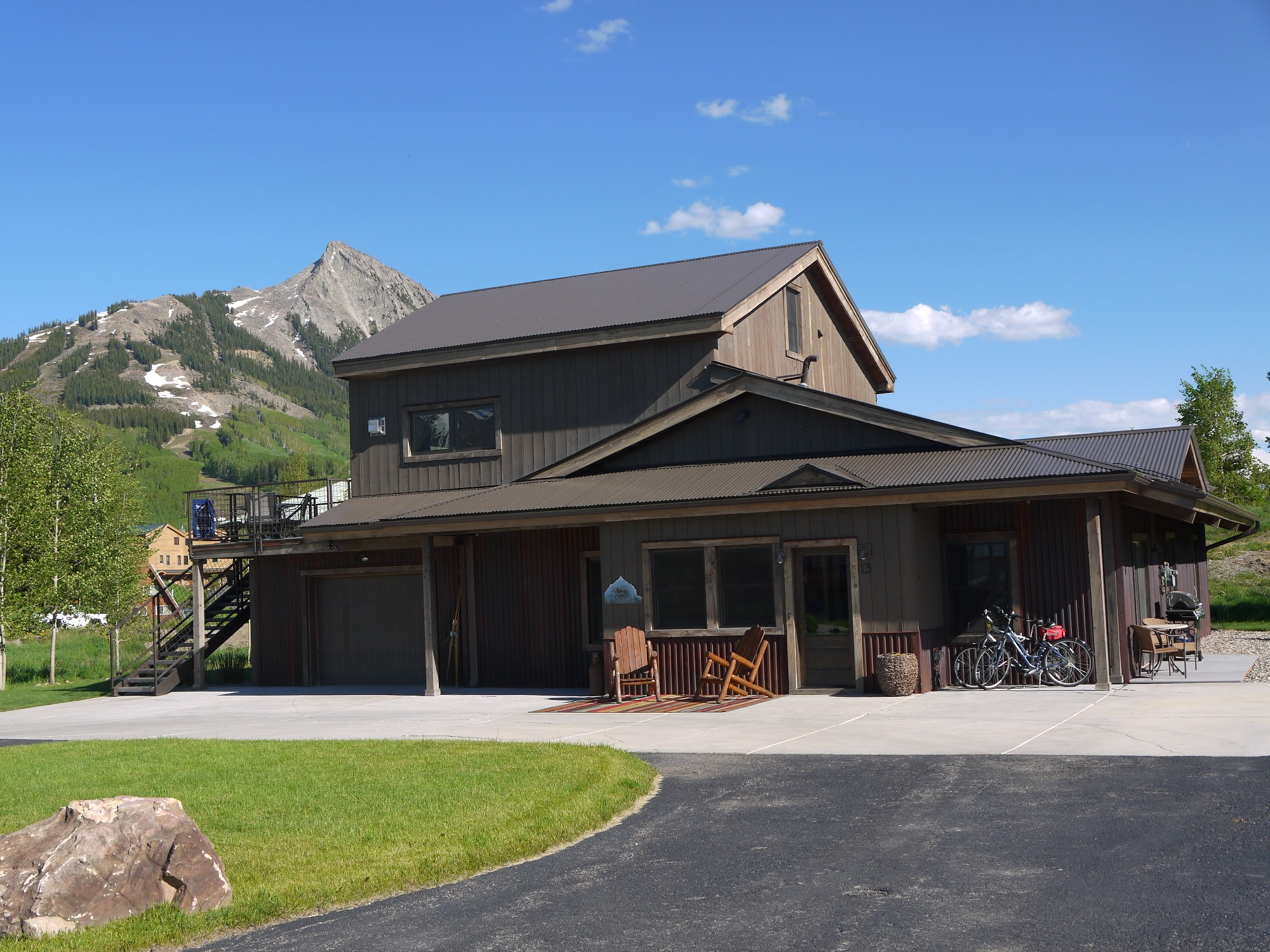 Single Family Home for Sale at Refined Mountain Retreat 13 Paradise Road Mount Crested Butte, Colorado 81225 United States