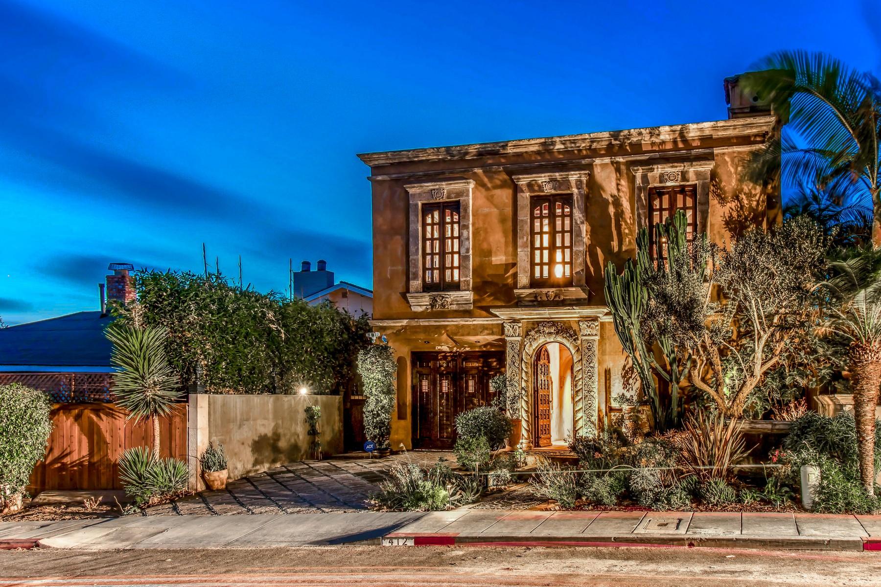 Casa Unifamiliar por un Venta en 412 Marine Street La Jolla, California 92037 Estados Unidos