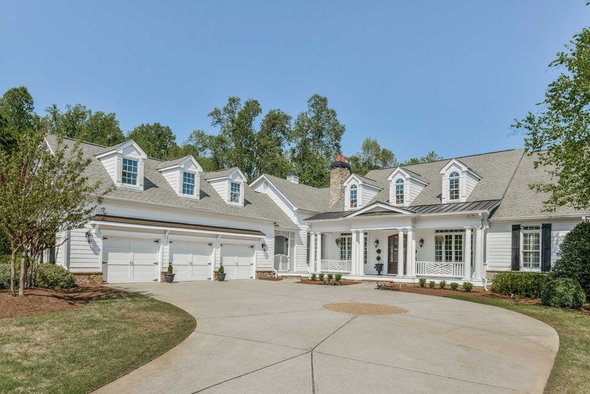 Single Family Home for Sale at Peaceful Elegance 12595 Etris Road Roswell, Georgia 30075 United States