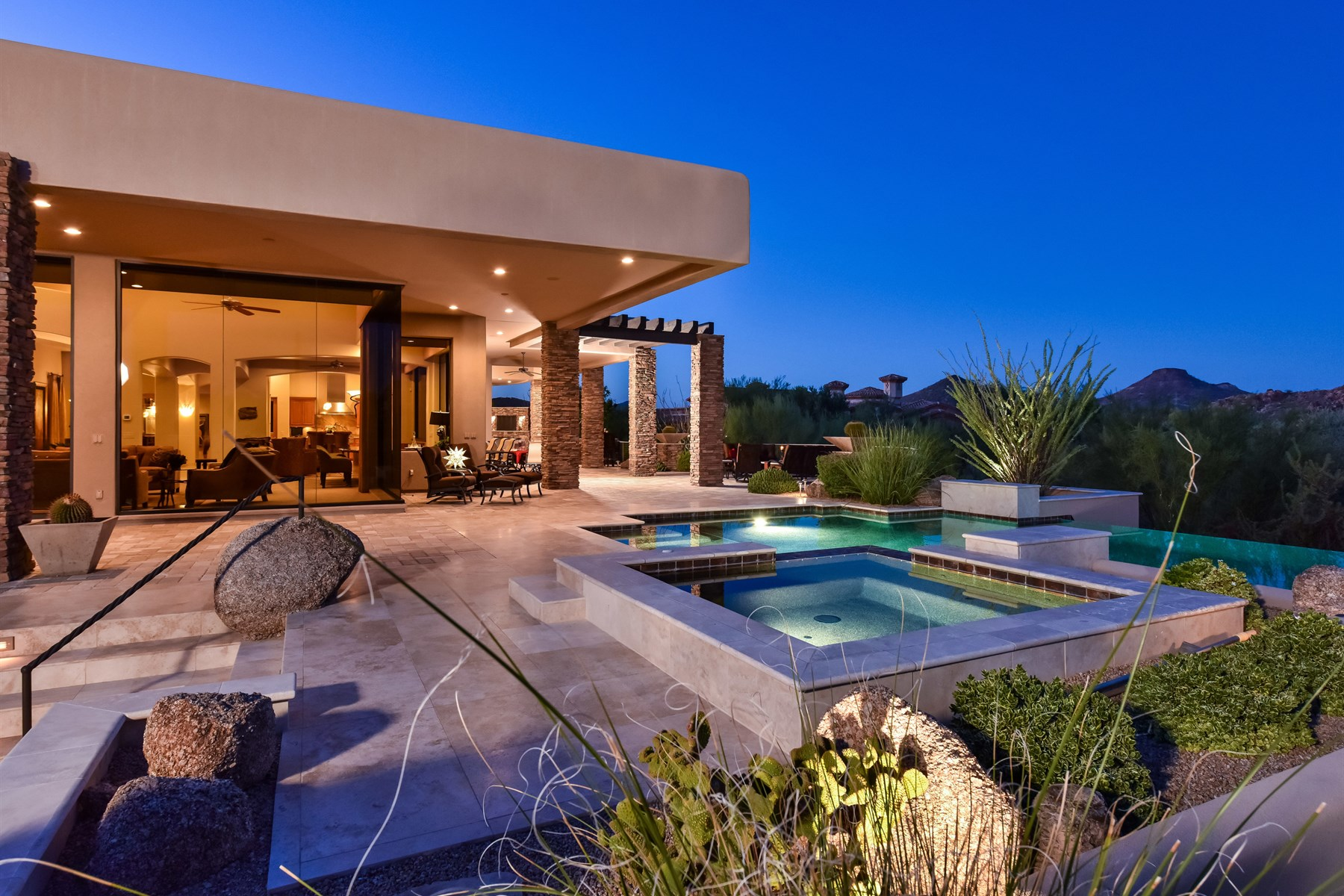 sales property at Stunning desert contemporary on a premium lot